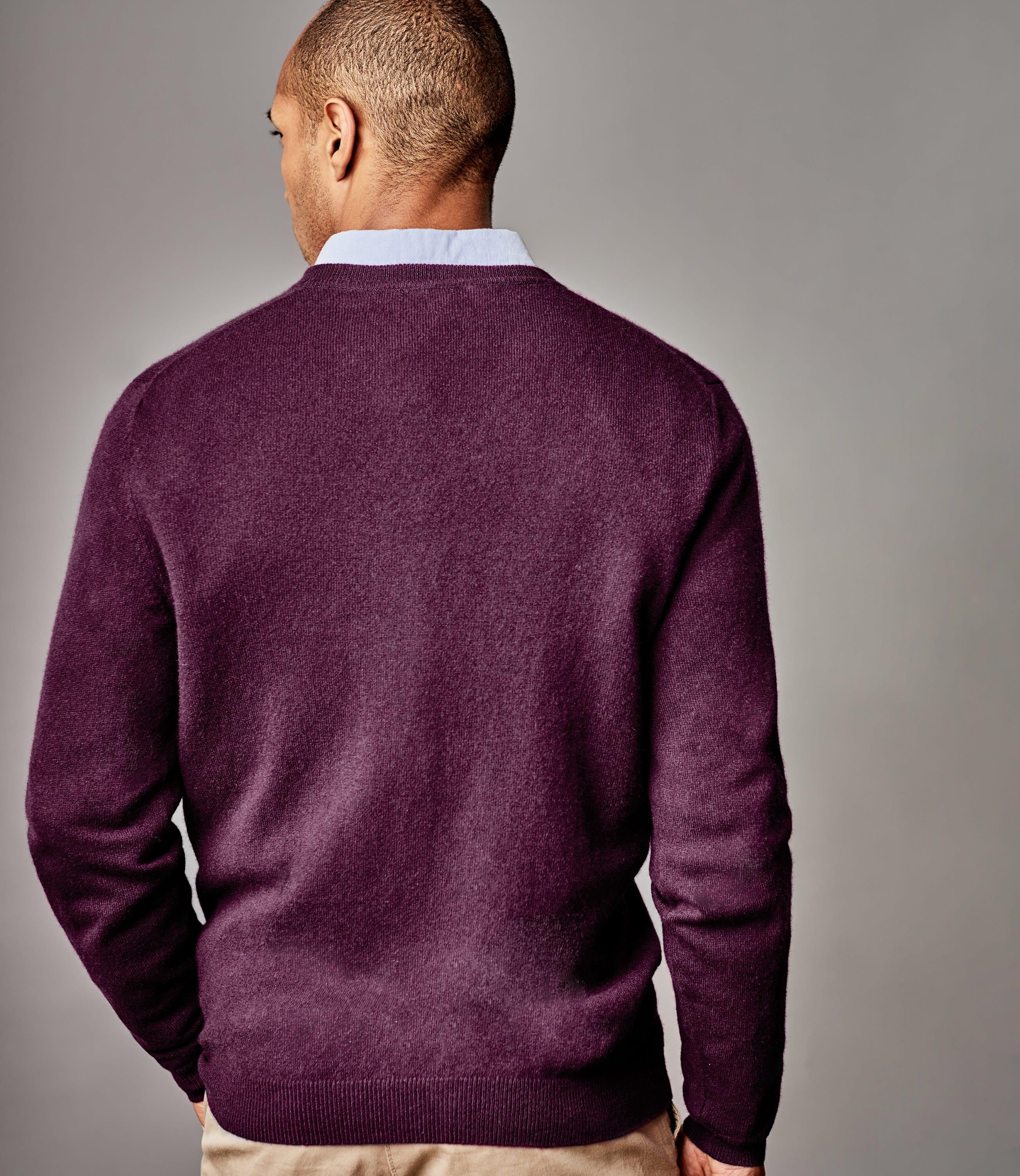 Pure Cashmere V Neck Sweater