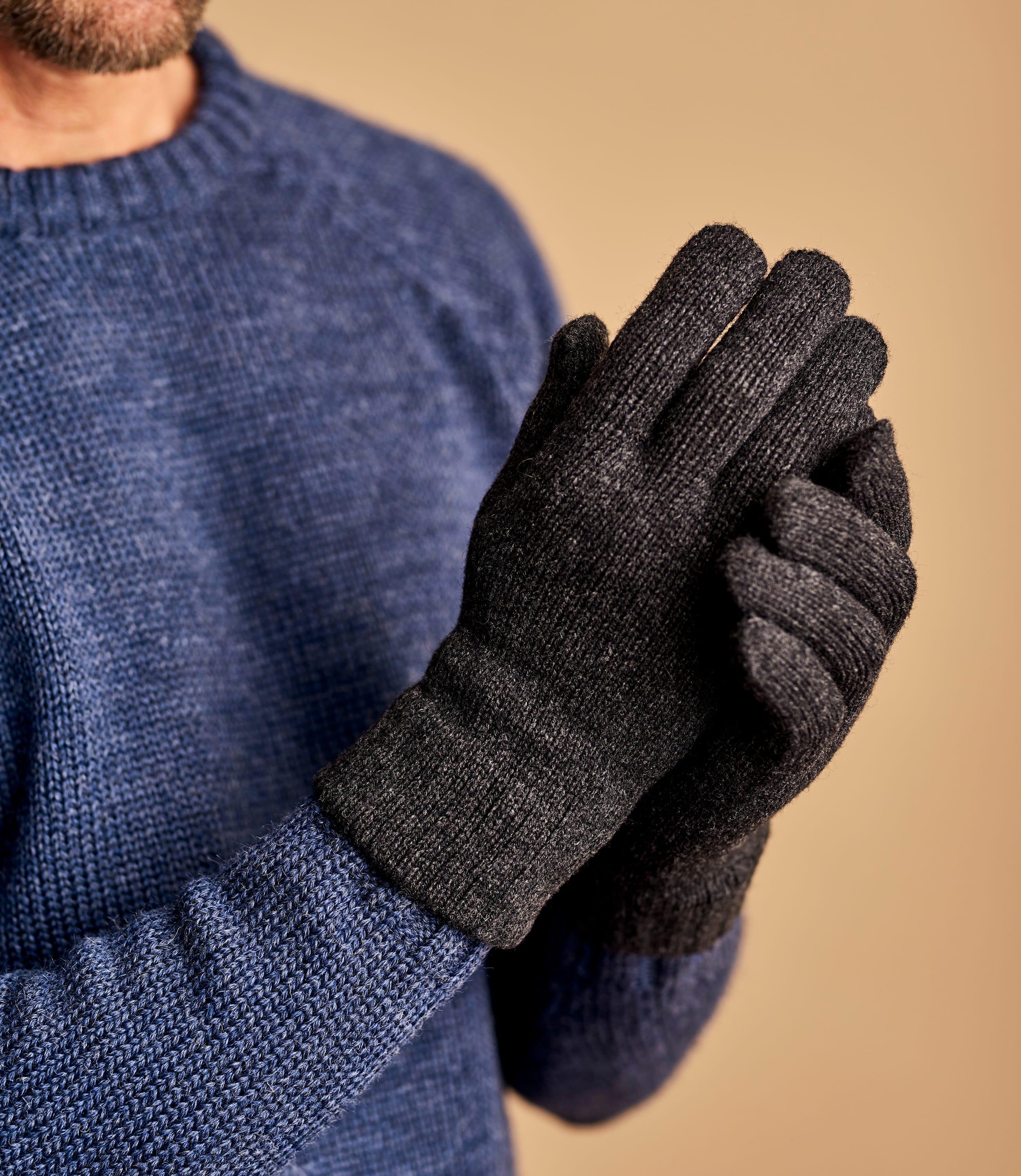 Handschuhe aus Lammwolle für Herren