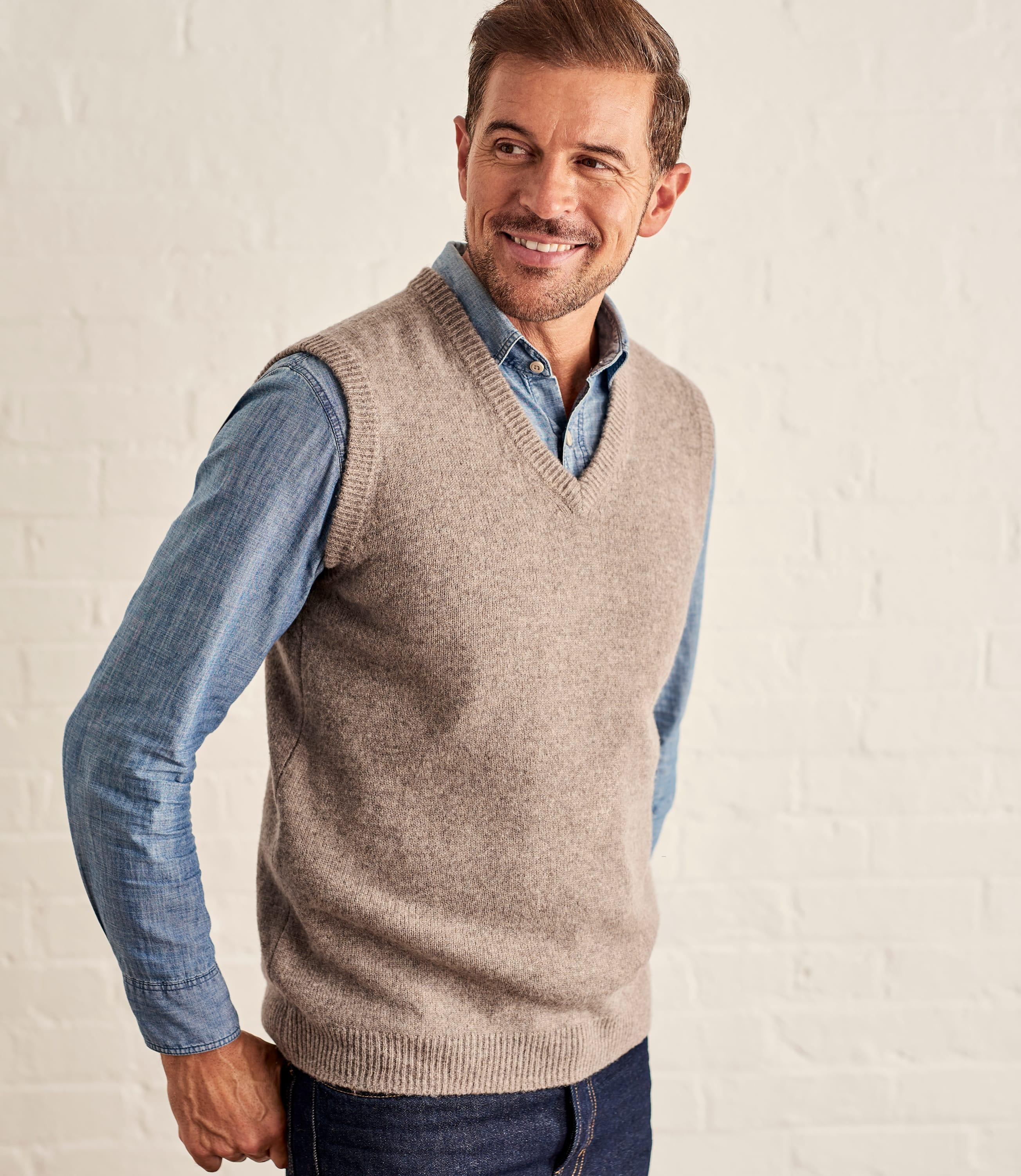 Lambswool Knitted Slipover