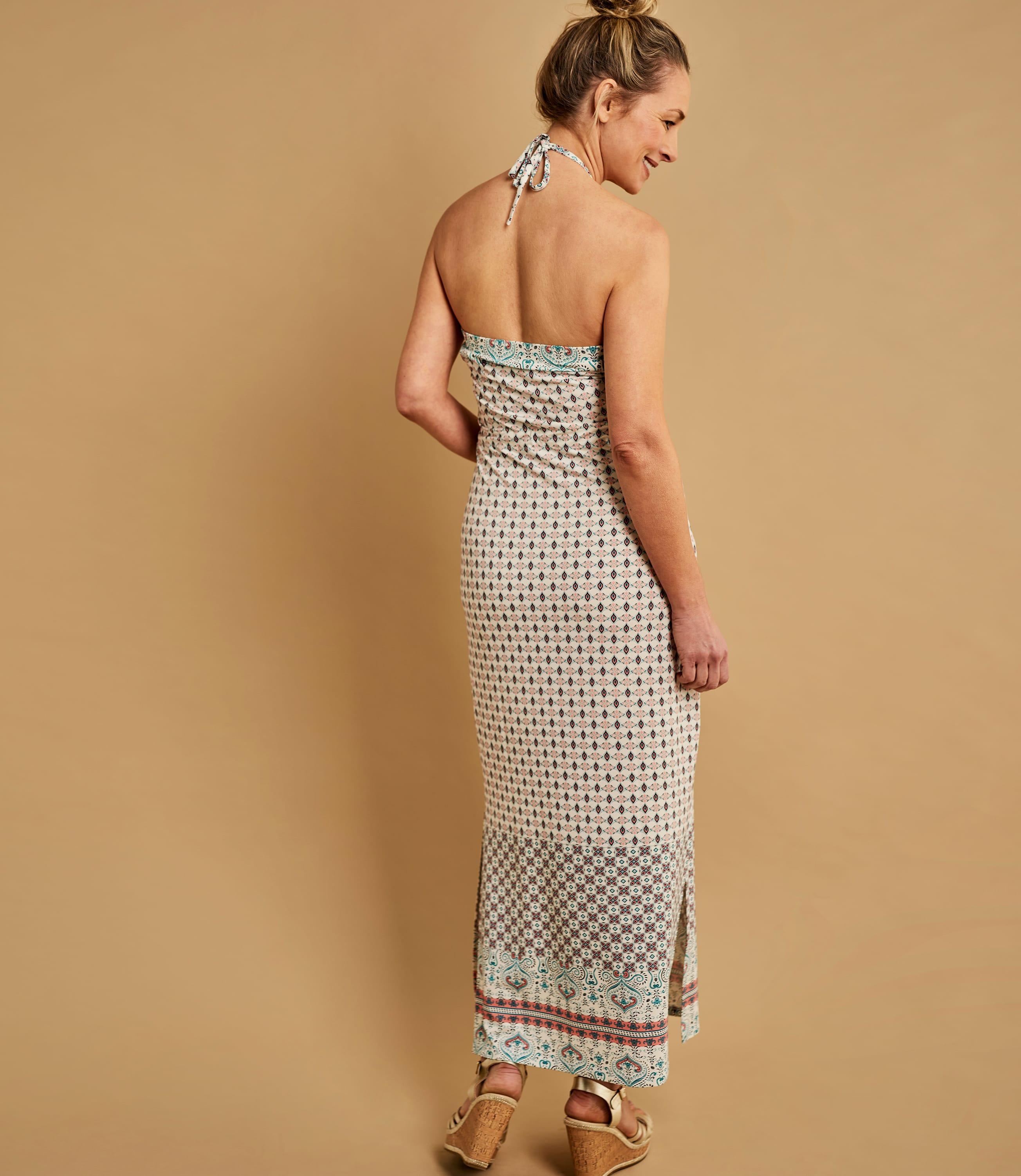 Womens Strapless Maxi Dress