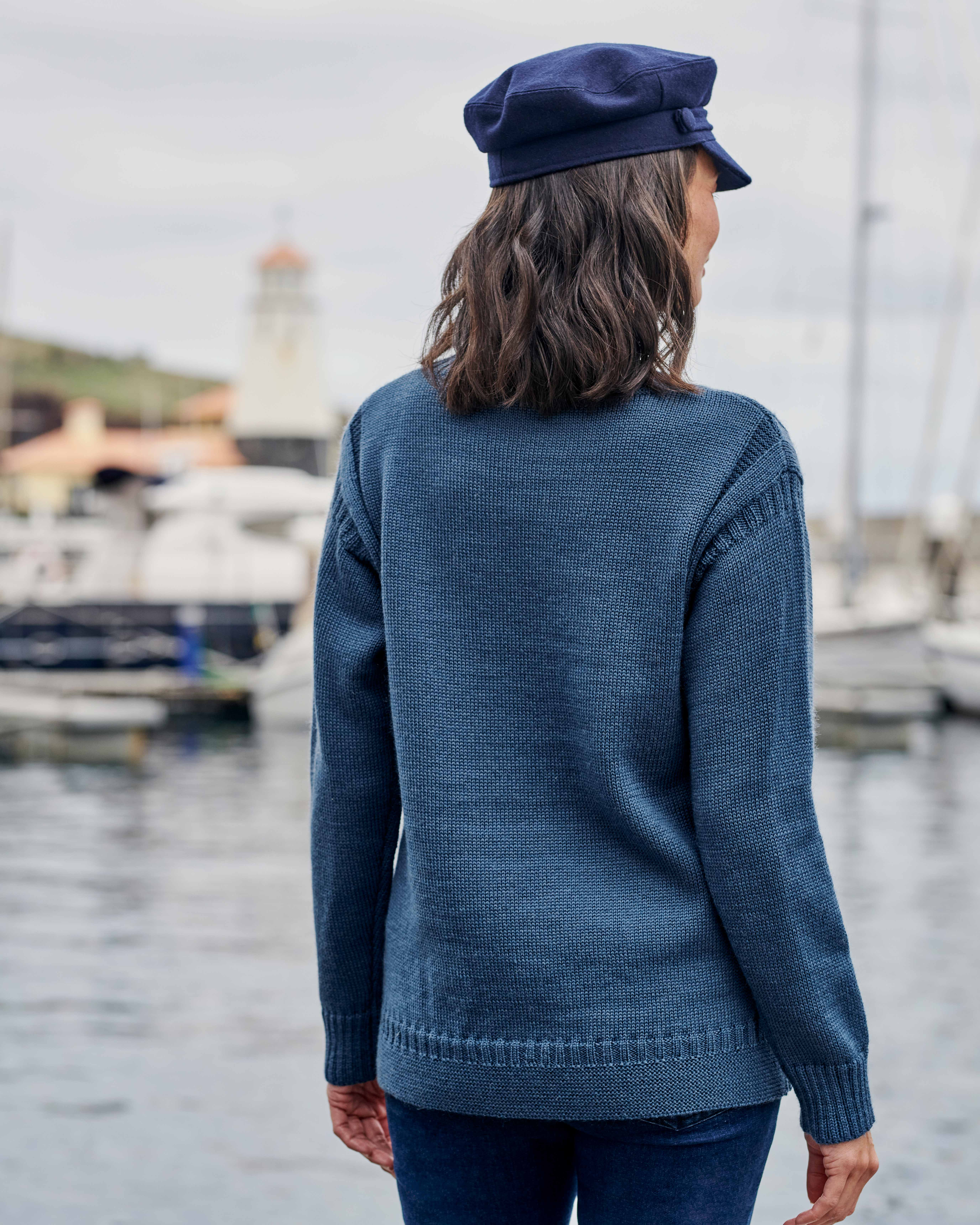 Pull Guernesey - Femme - Pure Laine