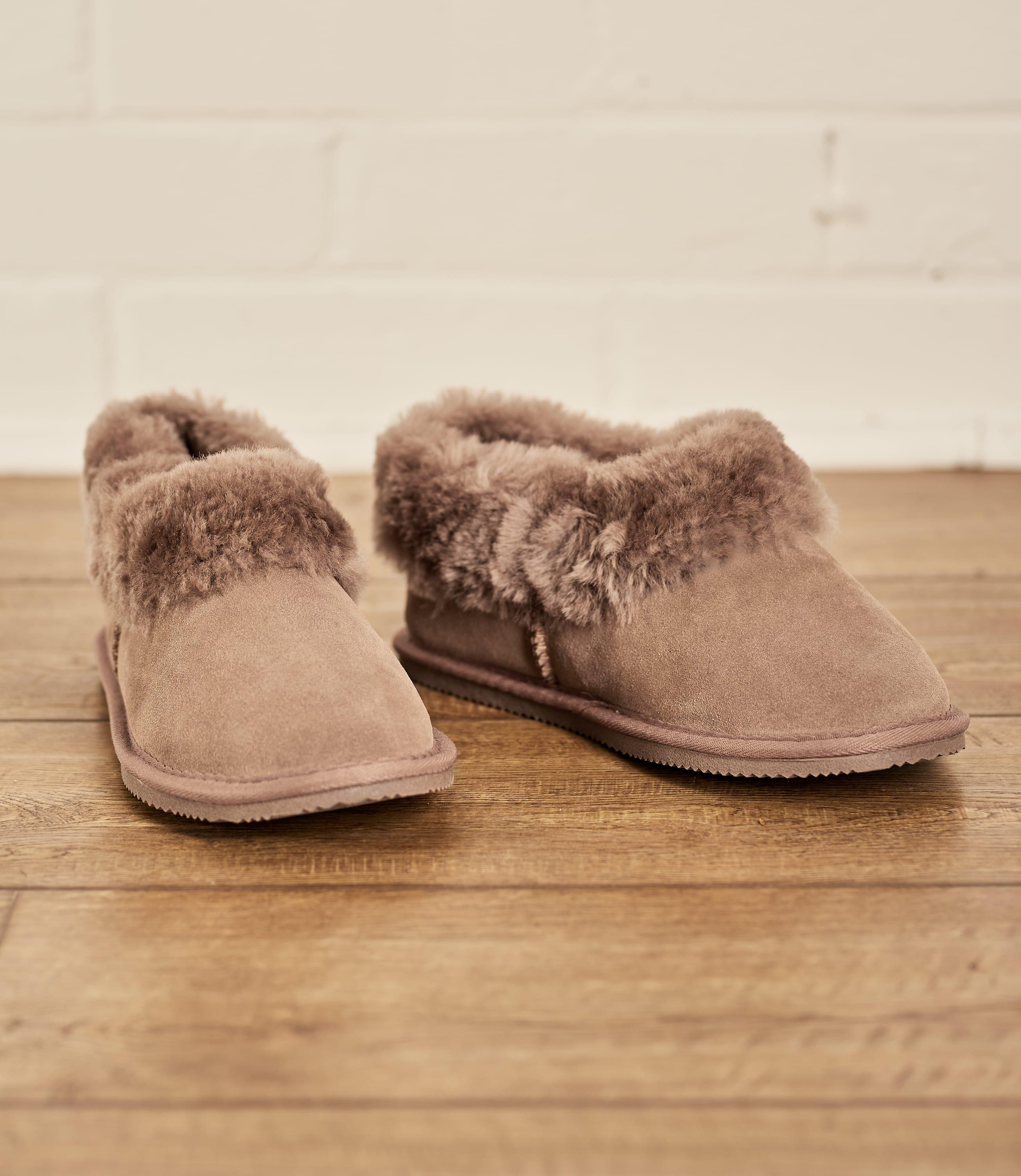 Chaussons bottes - Femme - Peau de Mouton