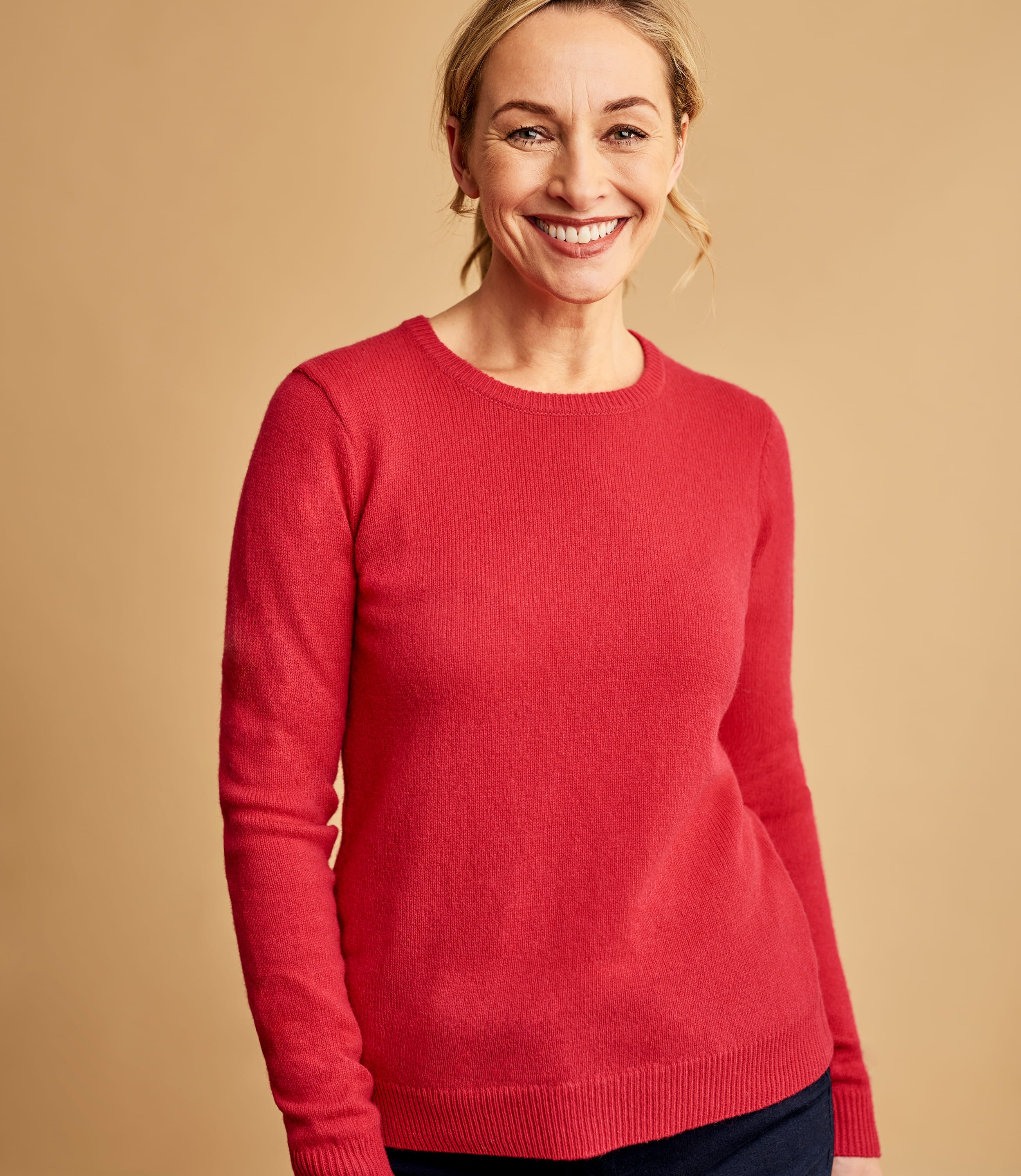 Lambswool Classic Crew Neck Jumper