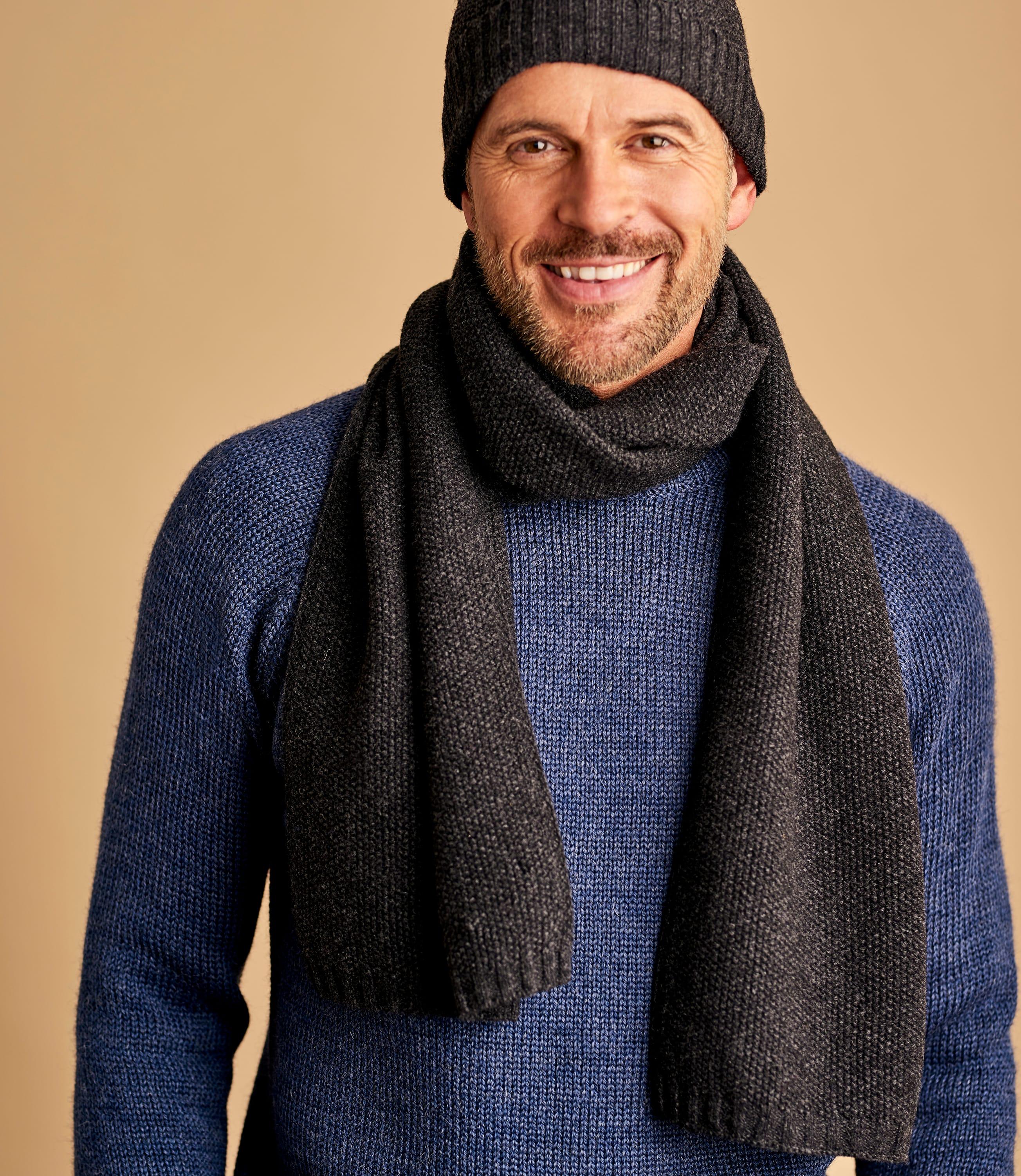 Mens Basic Lambswool Hat