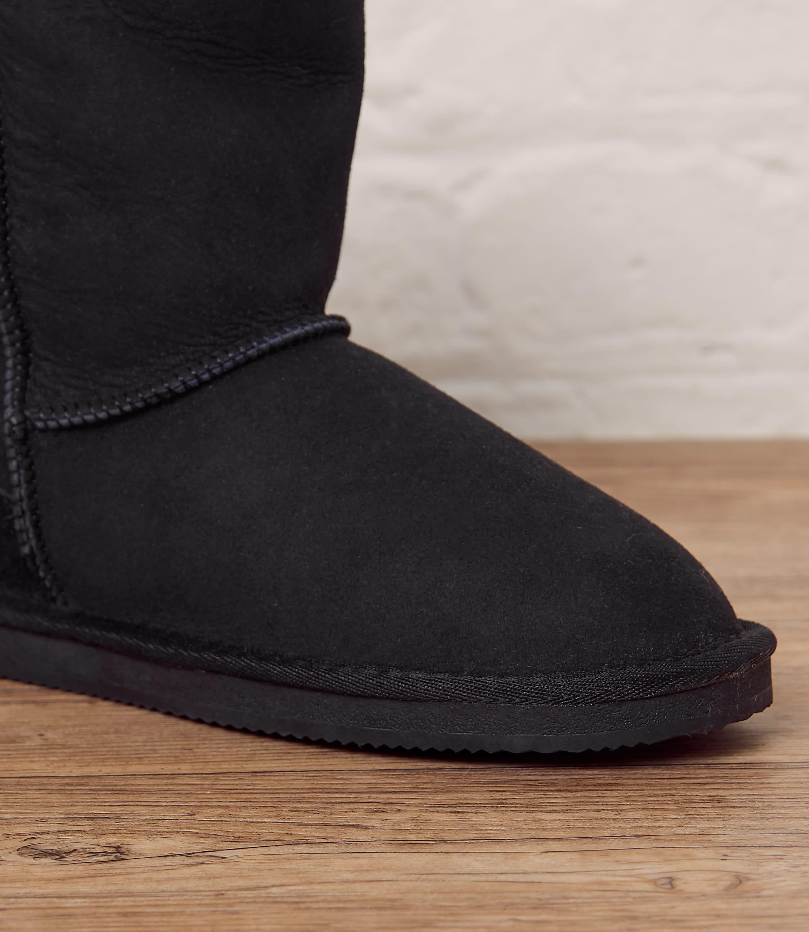 Womens Sheepskin Slipper Boots