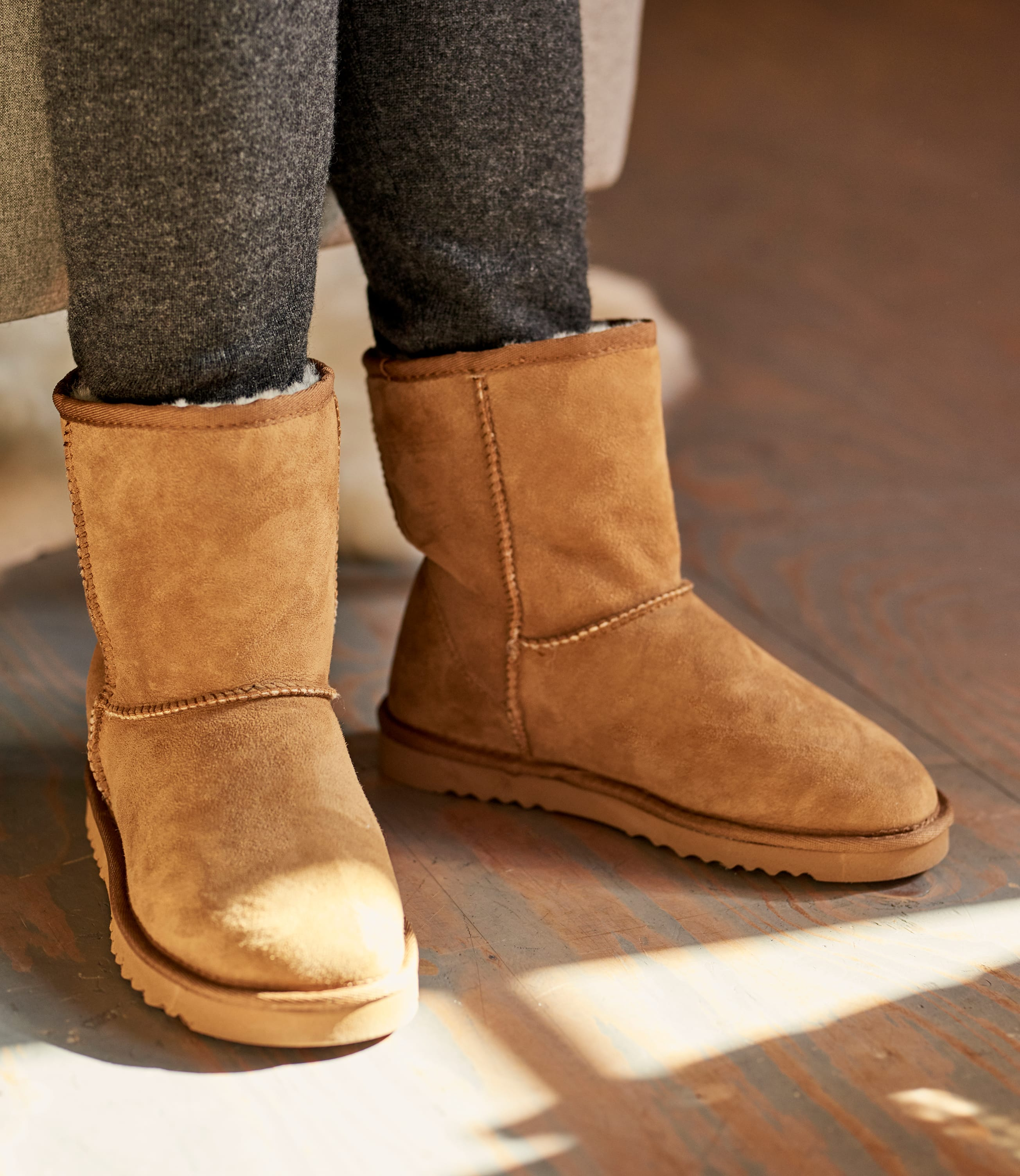Womens Sheepskin Slipper Boots