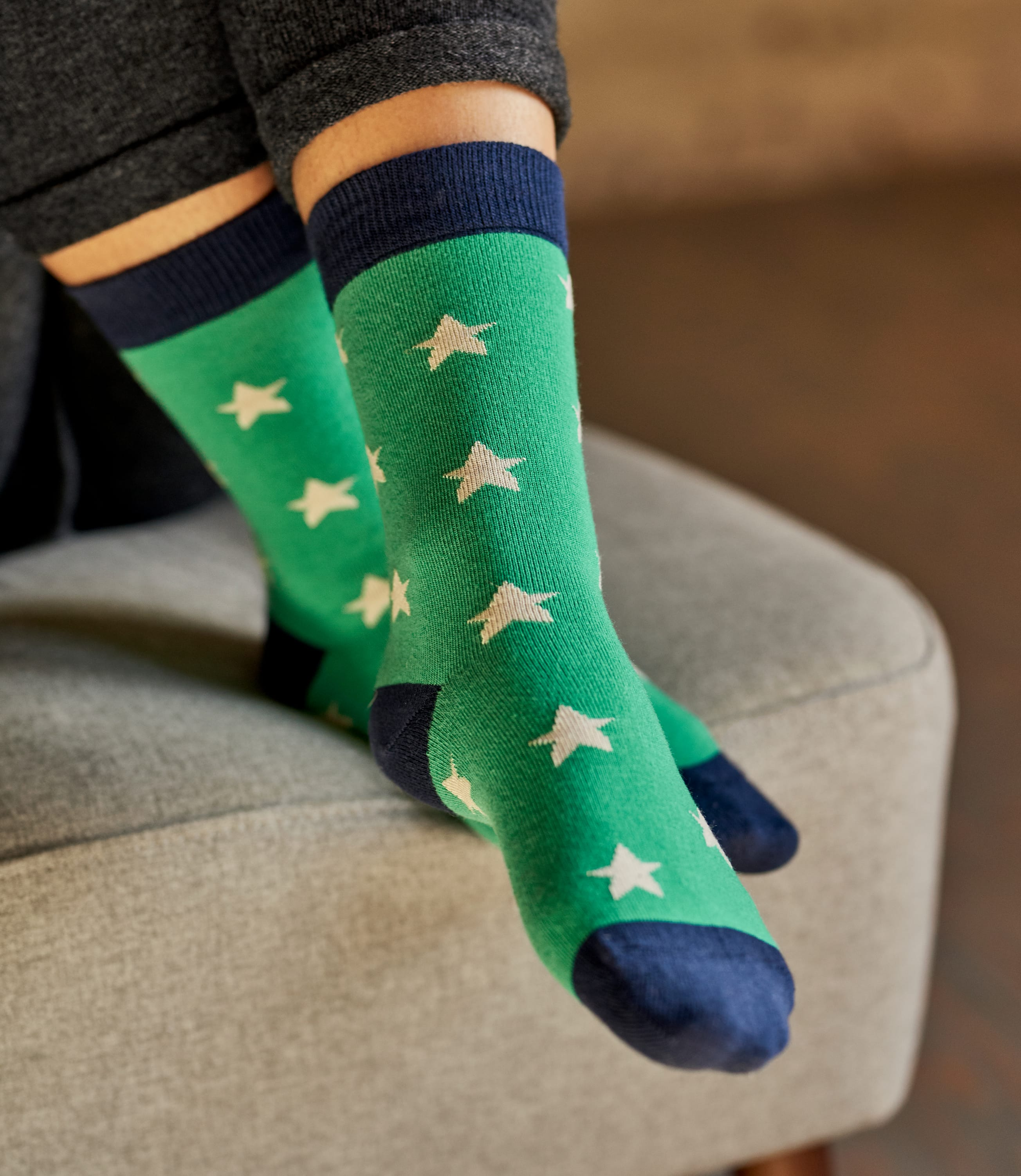 Womens Bamboo Star Sock