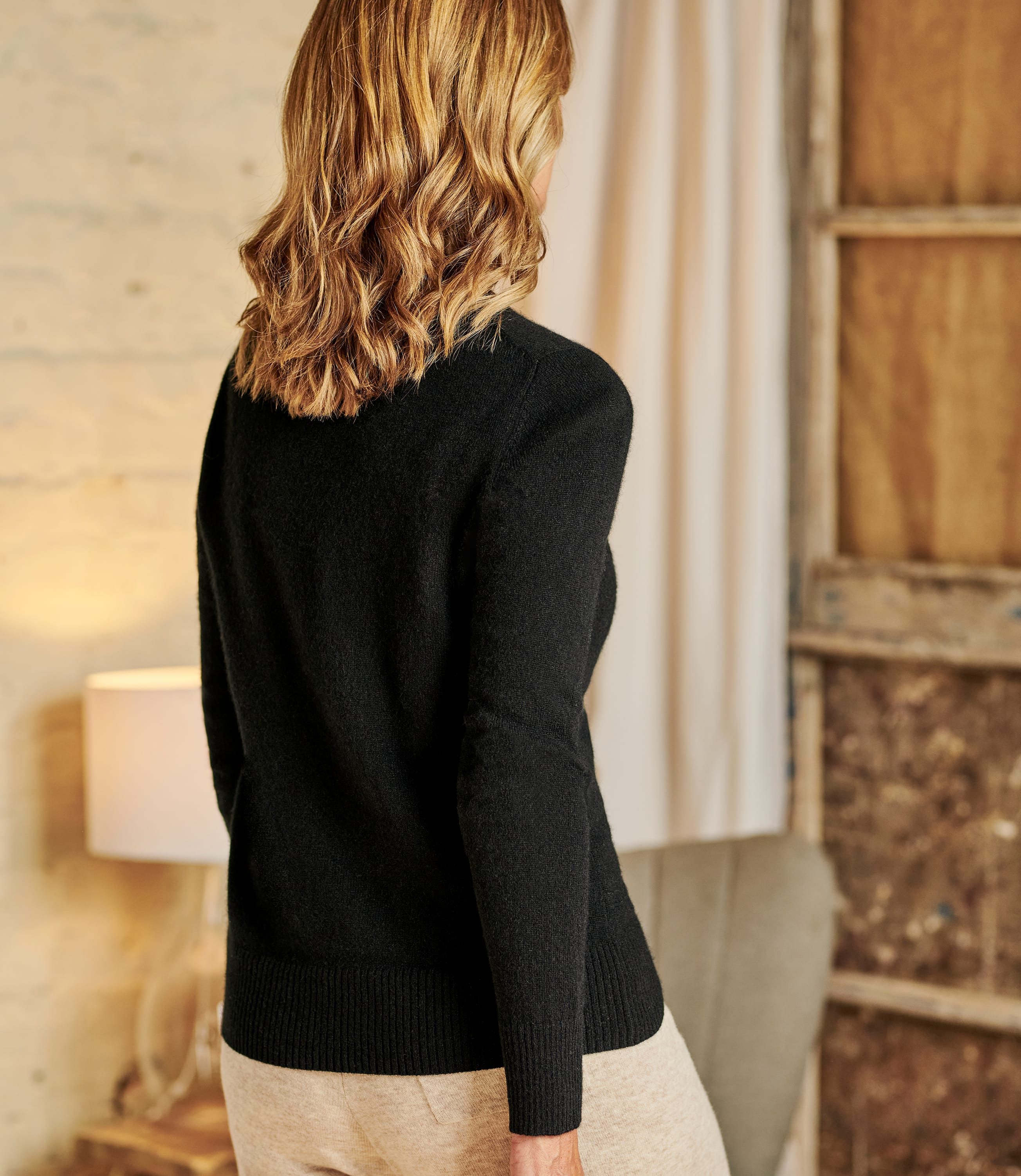 Luxurious Cashmere Crew Neck Jumper