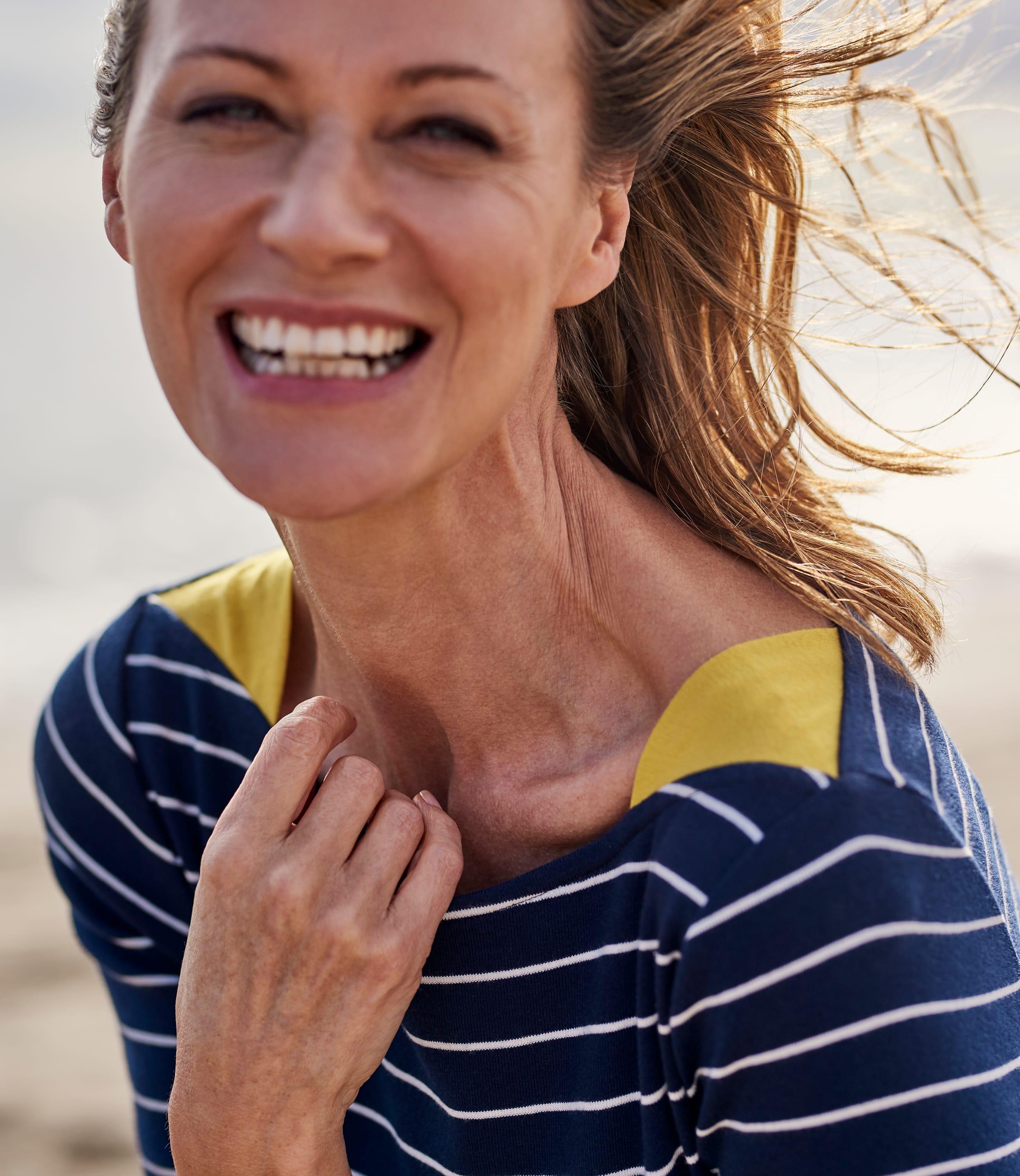 Womens Shoulder Insert Tunic