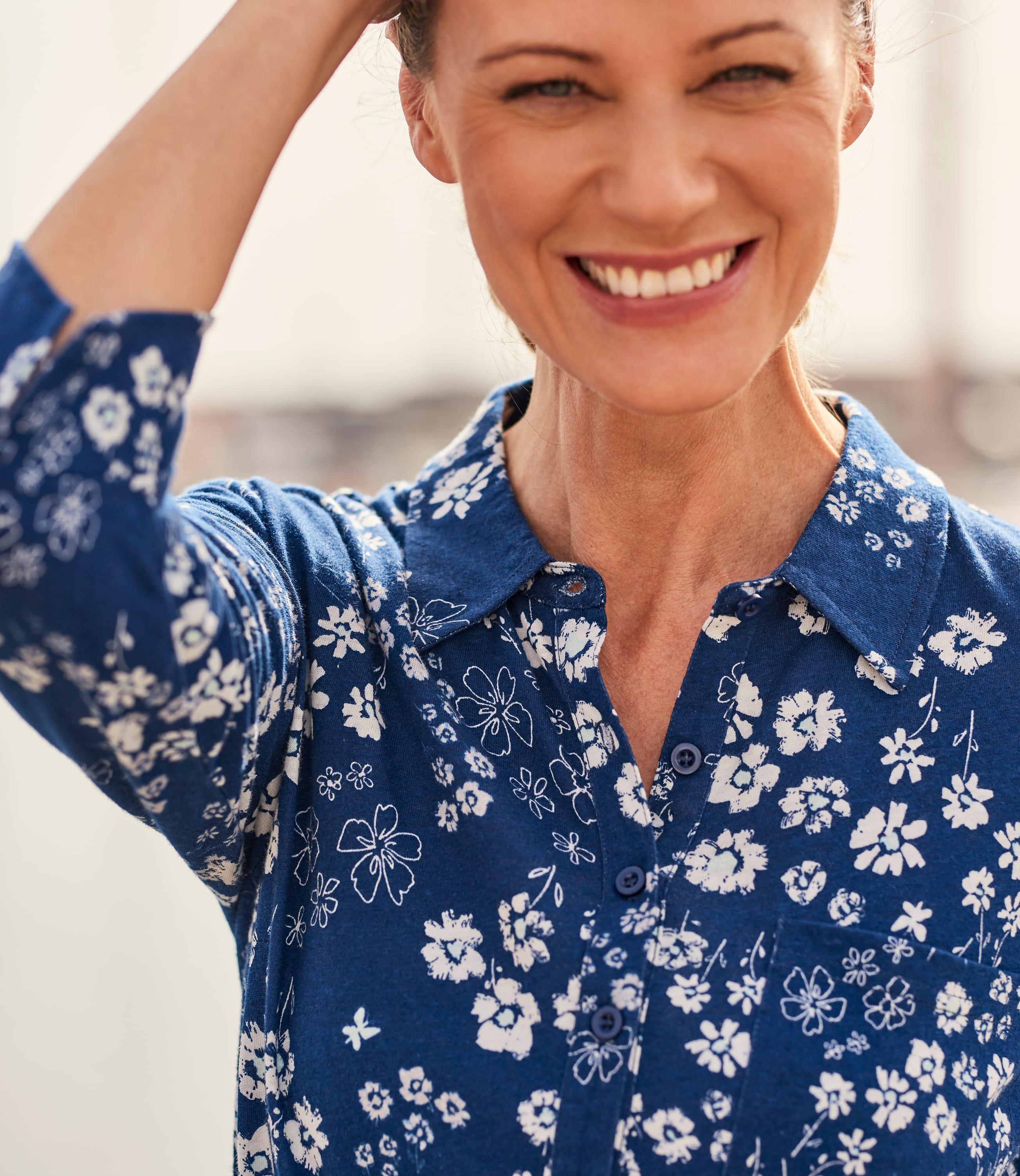 Womens Jersey Shirt Dress