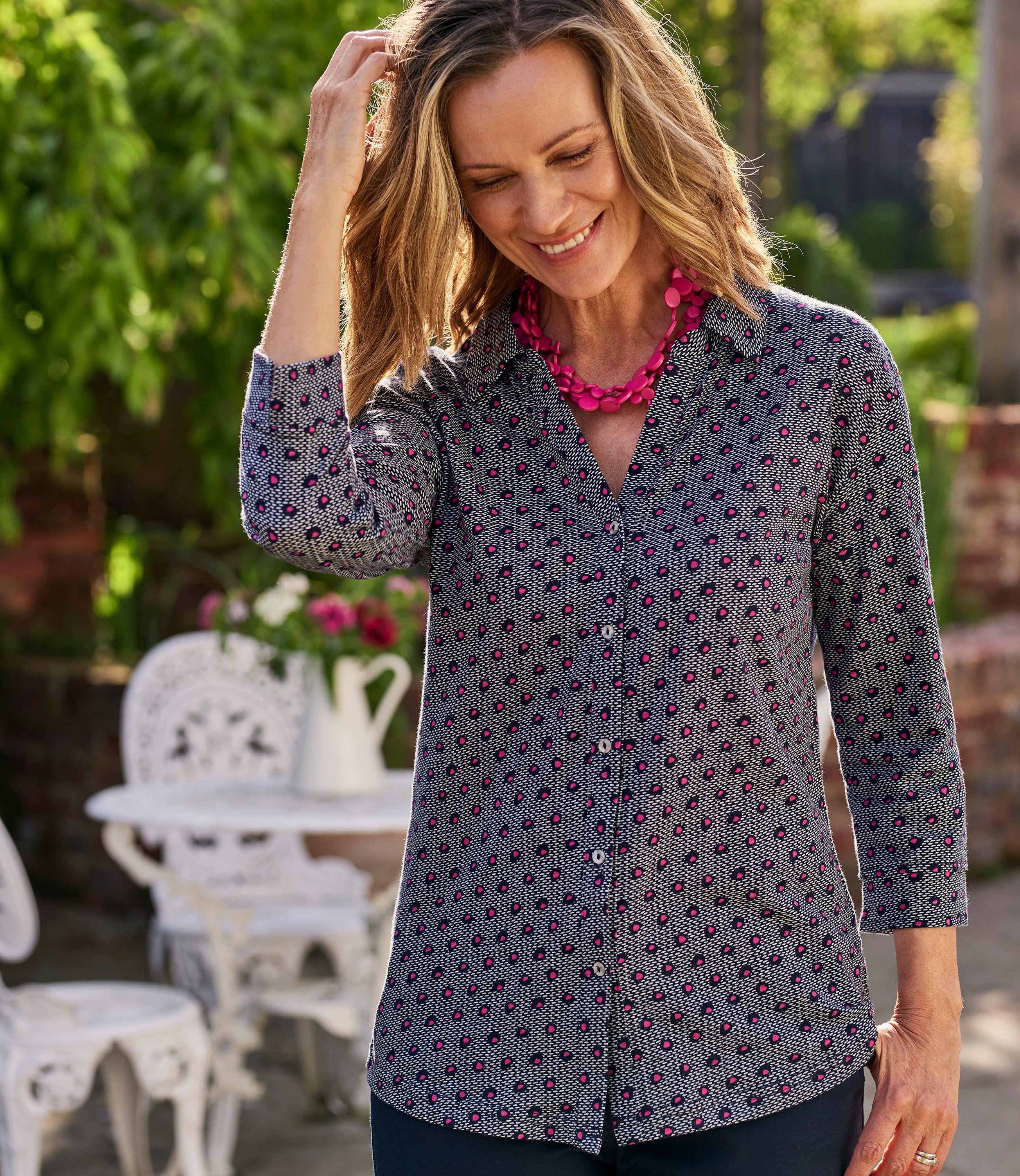 Womens Equator Spot Shirt