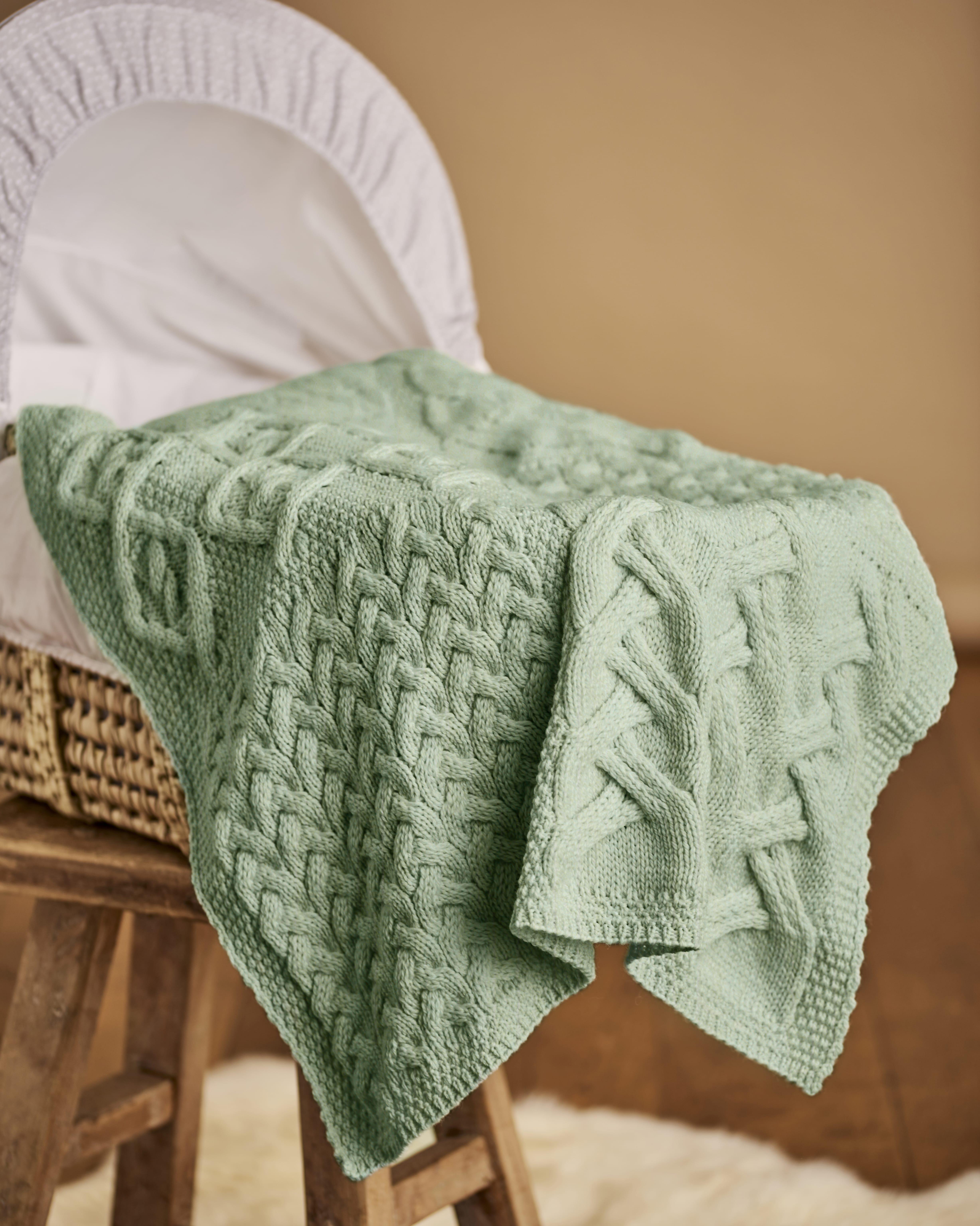 Supersoft Merino Cot Blanket