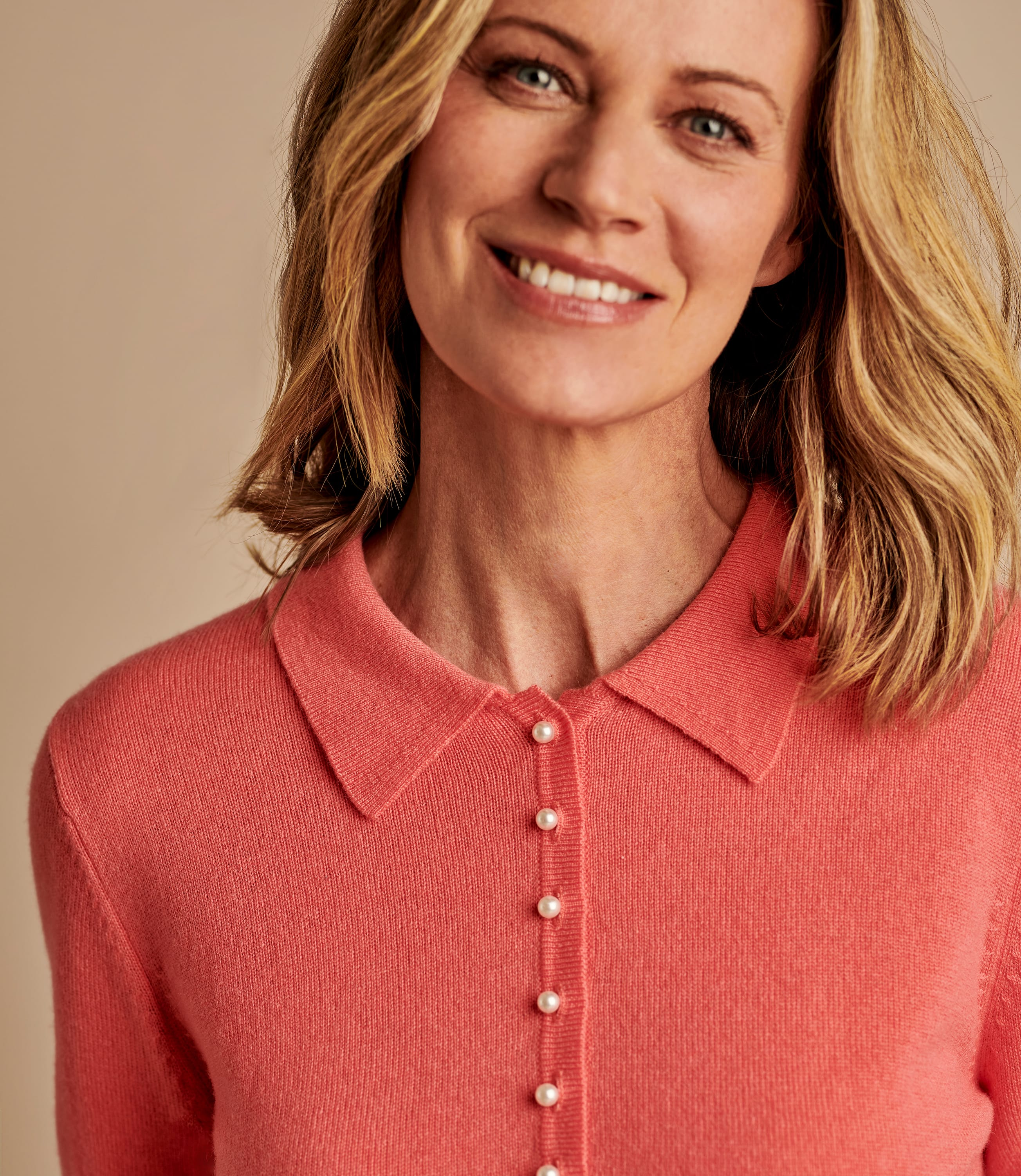 Cashmere and Merino Knitted Polo Shirt