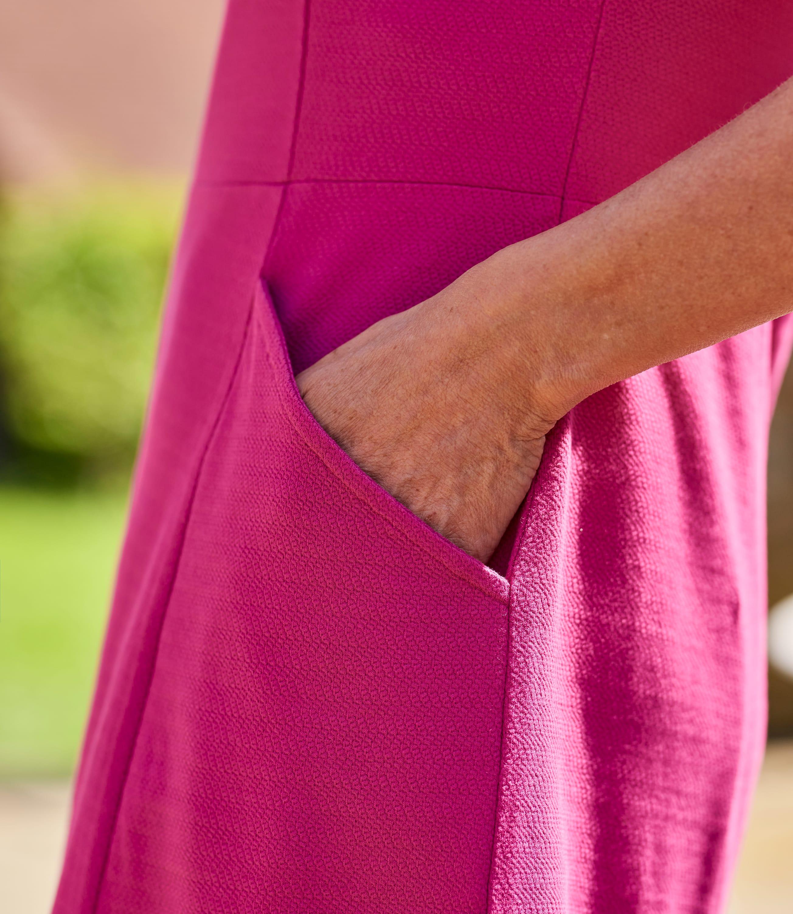 Womens Jersey Fit & Flare Dress