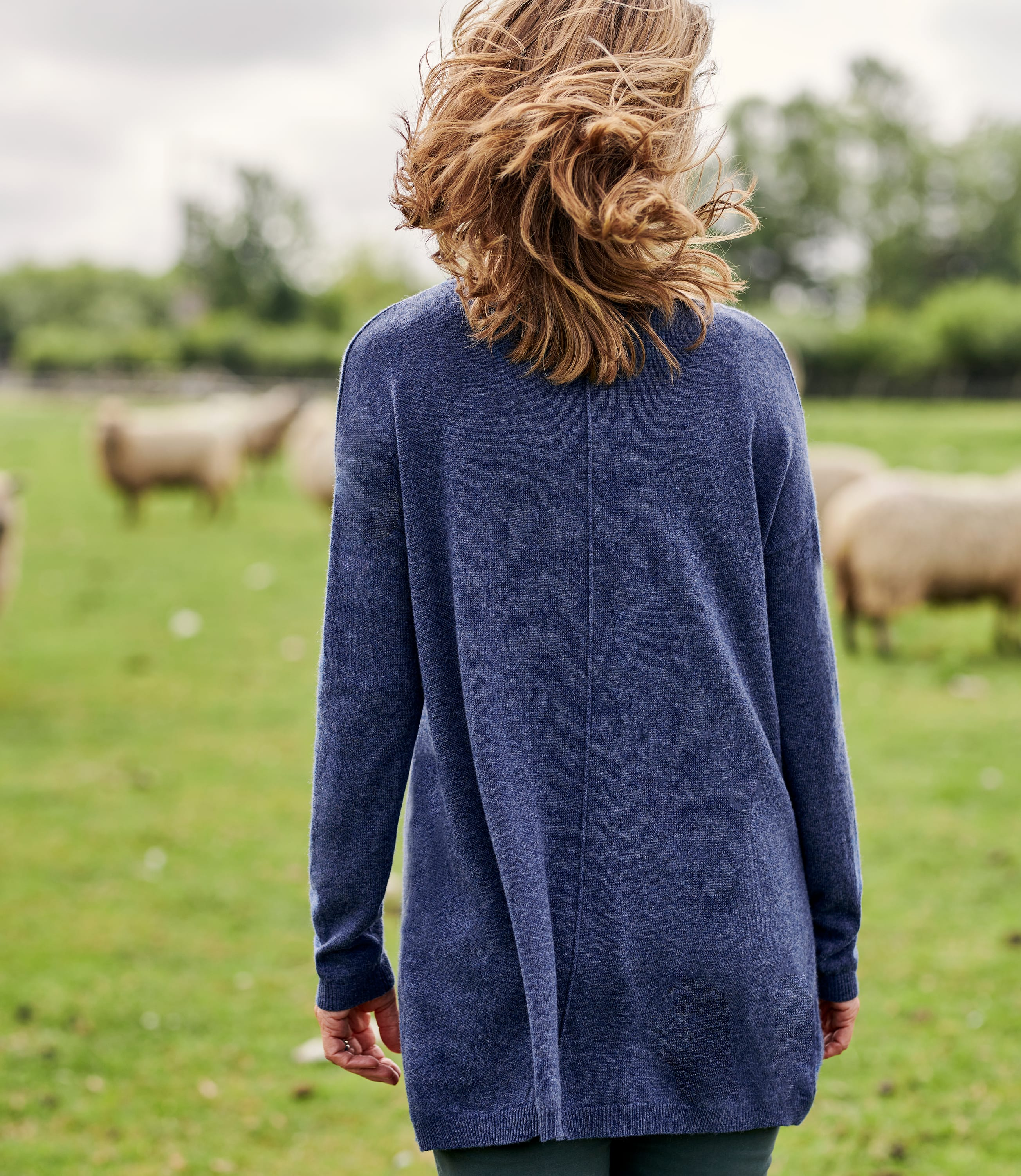 Cashmere & Merino Pocket Tunic