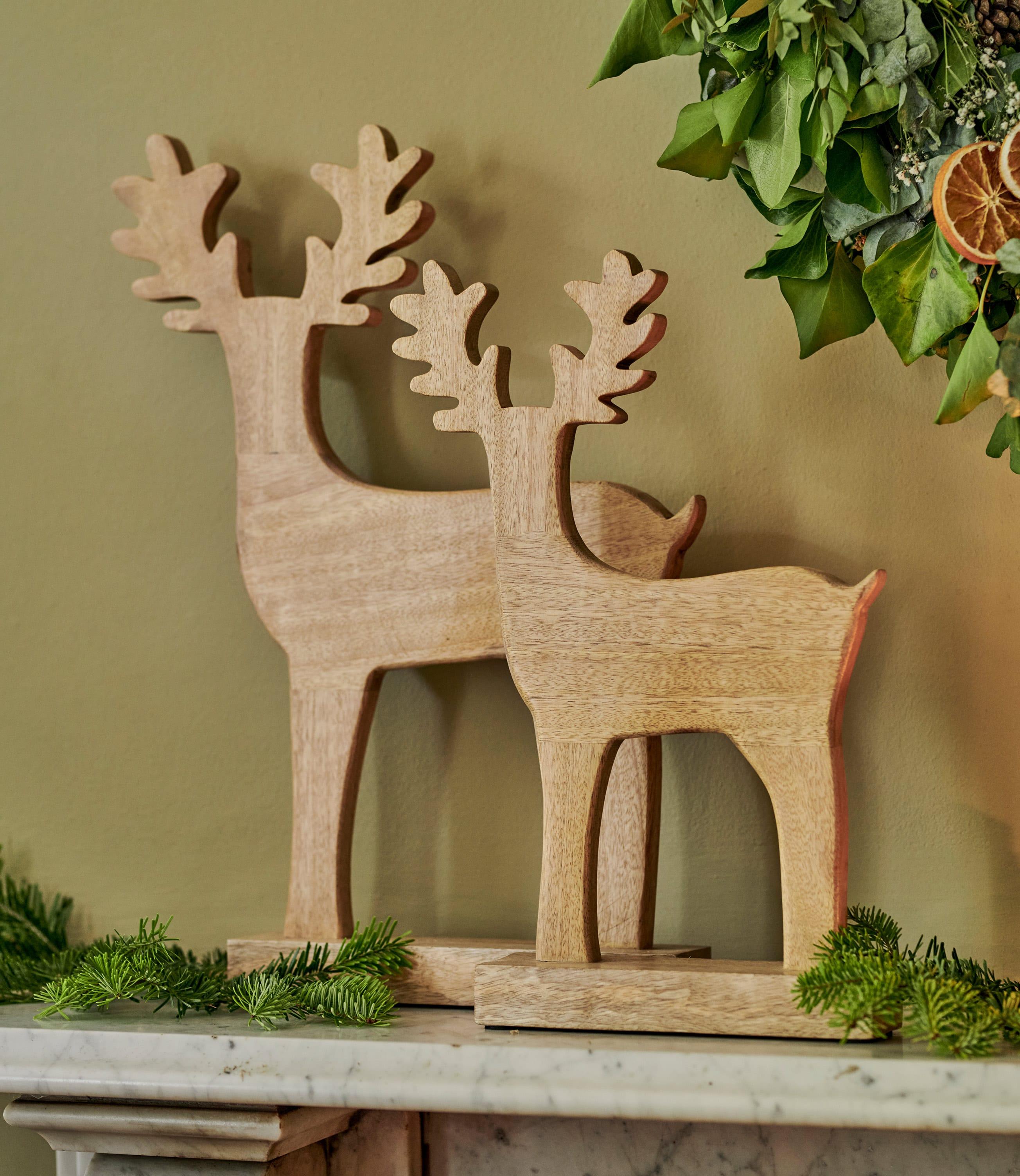 Petit cerf en bois - Maison - Bois