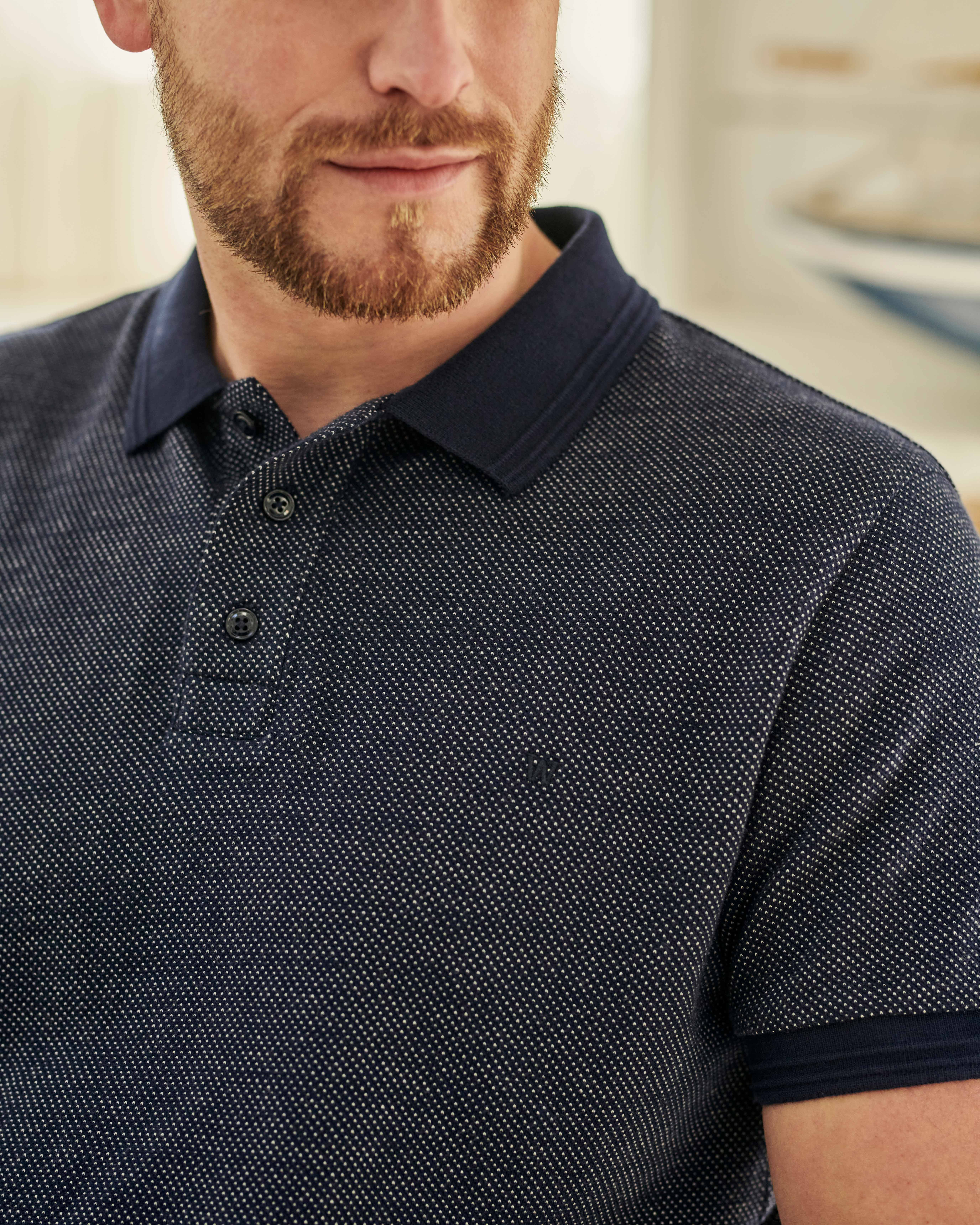 Mens Jersey Polo Shirt