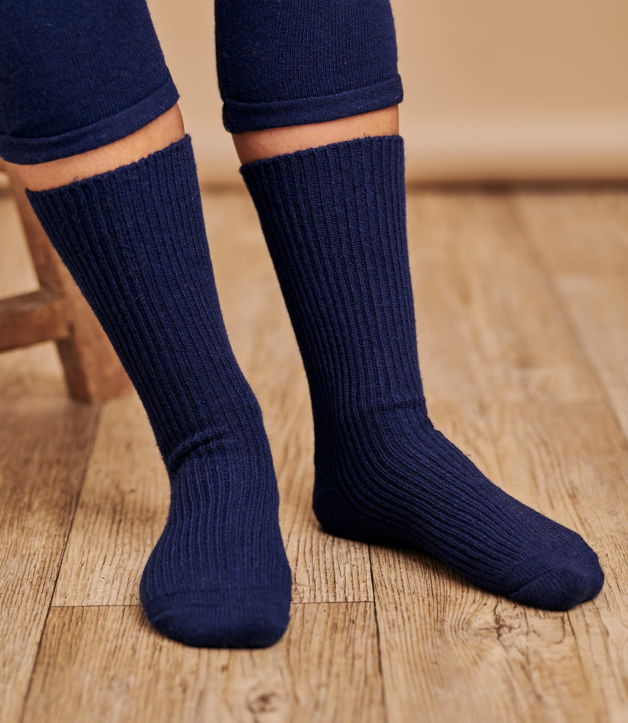 Womens Cashmere and Merino Socks