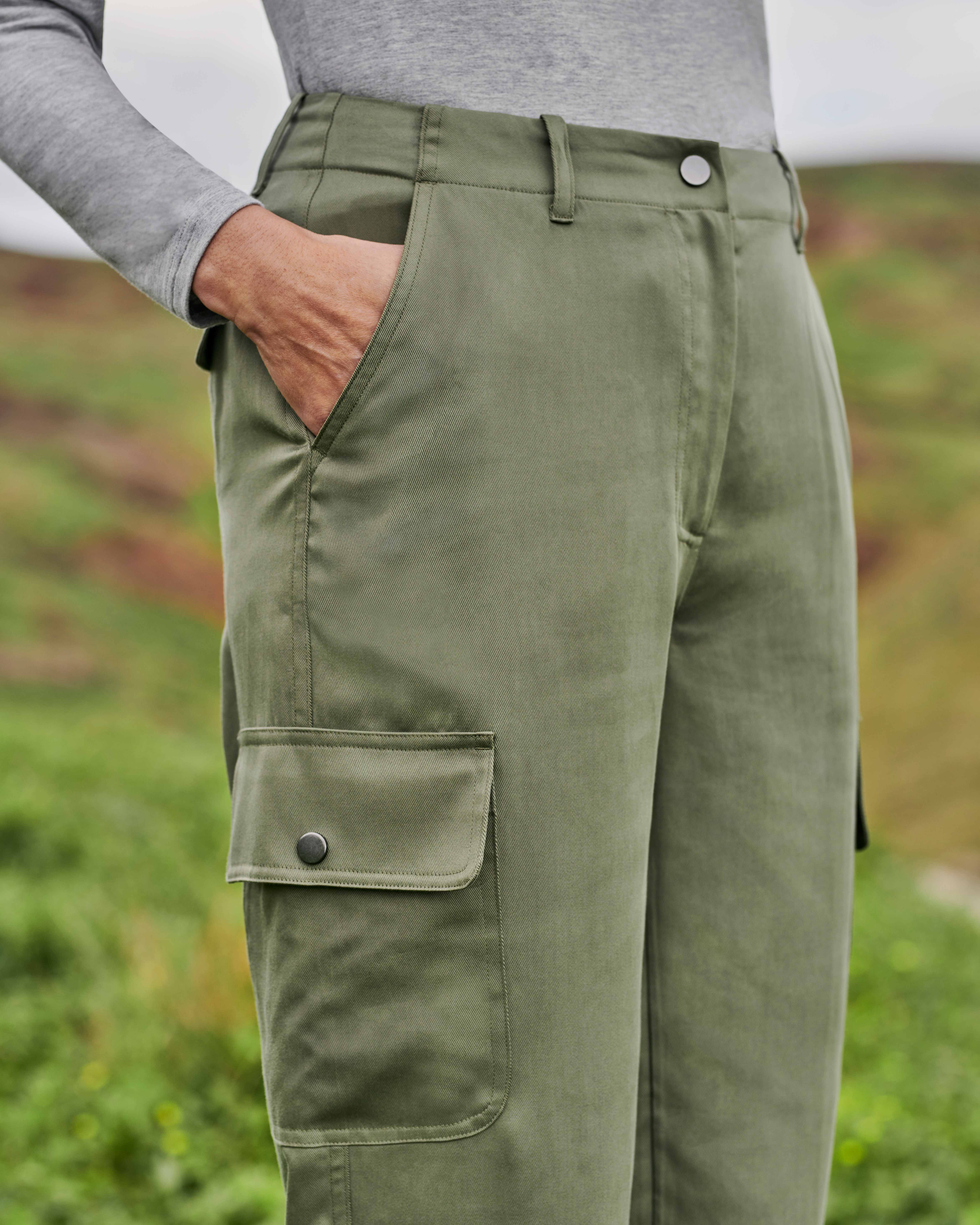 Pantalon utility - Femme - Viscose