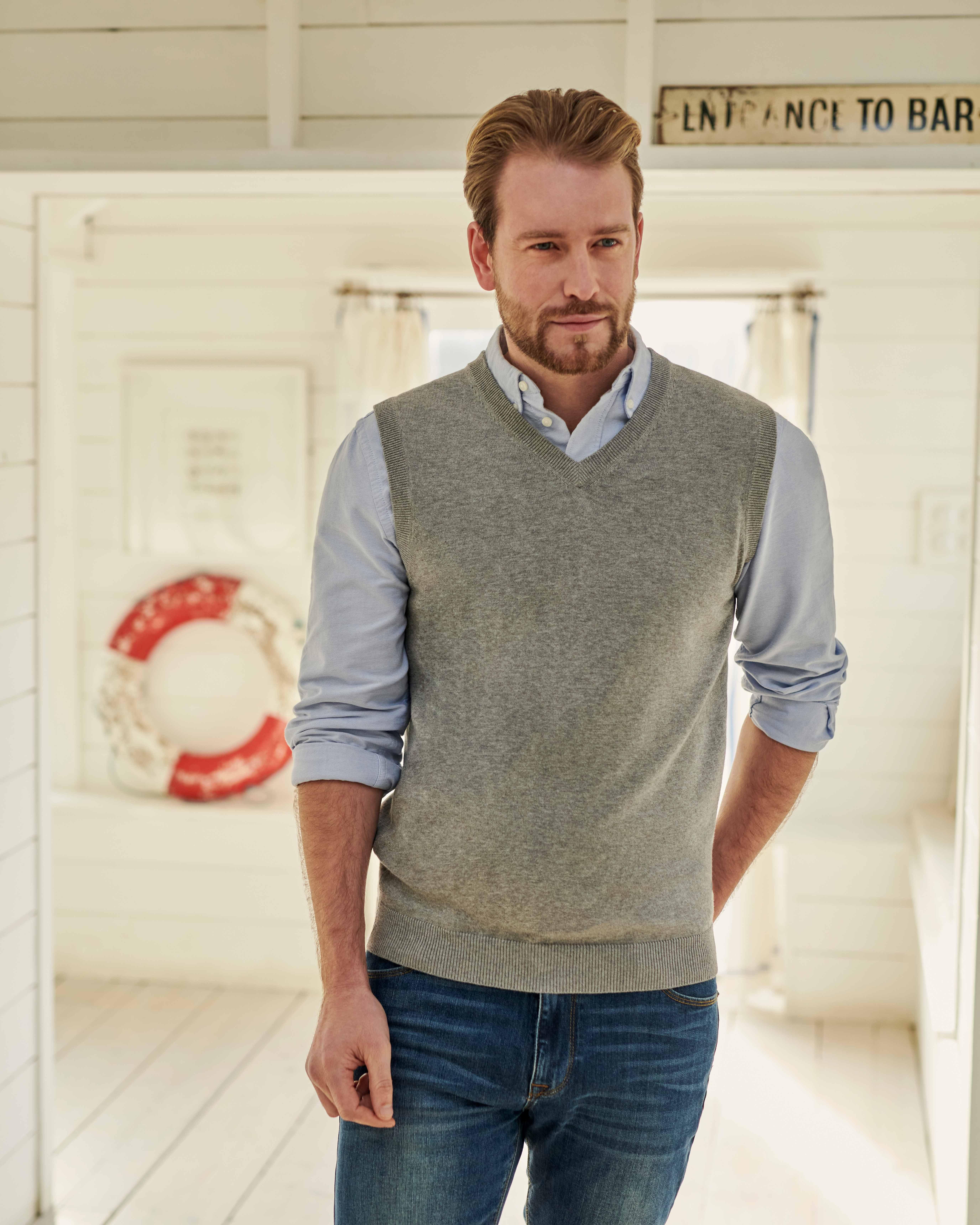 Organic Cotton Cashmere Slipover