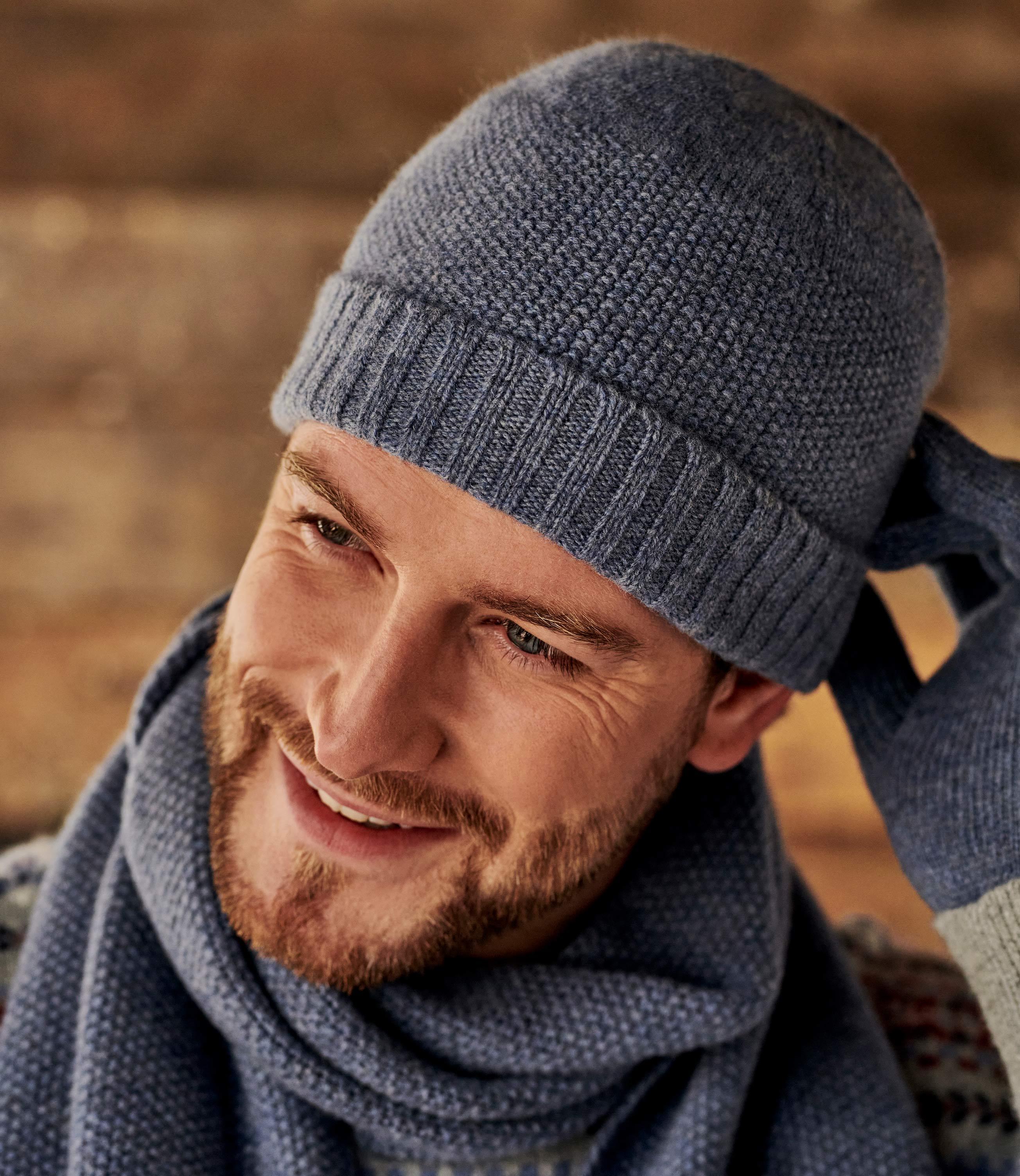 Mütze aus Lammwolle für Herren