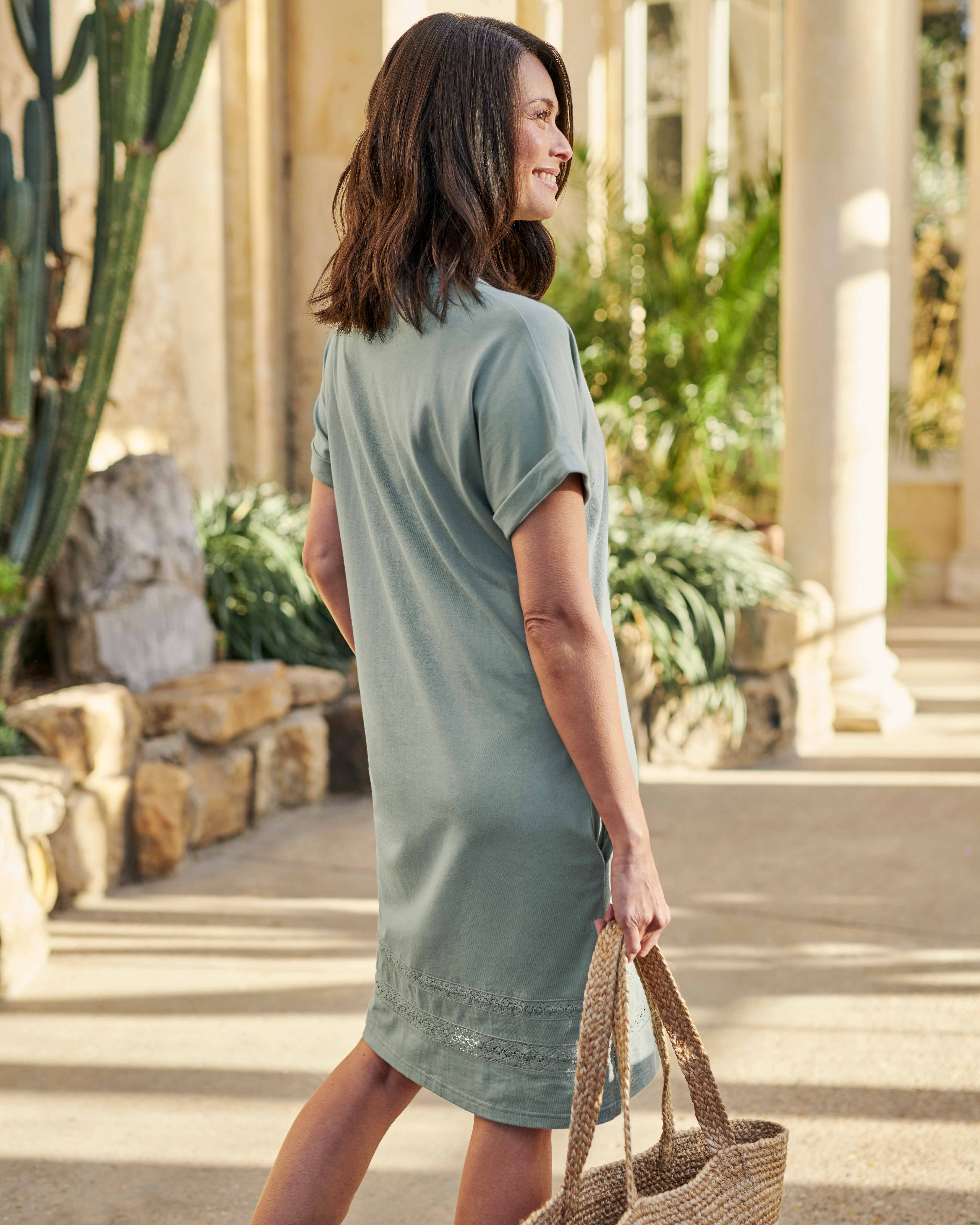 Embroidered Detail Tunic