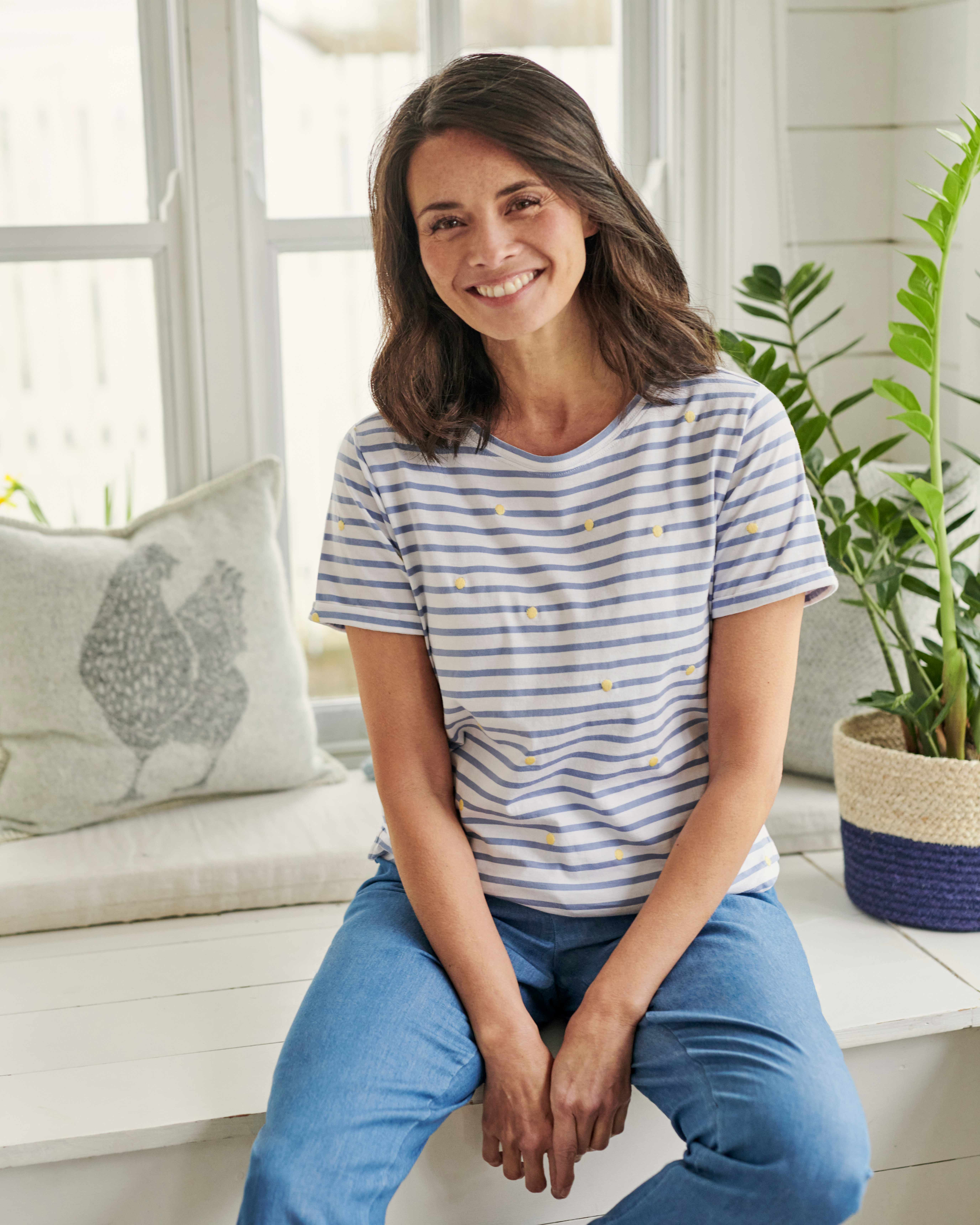 Embroidered Motif T-Shirt