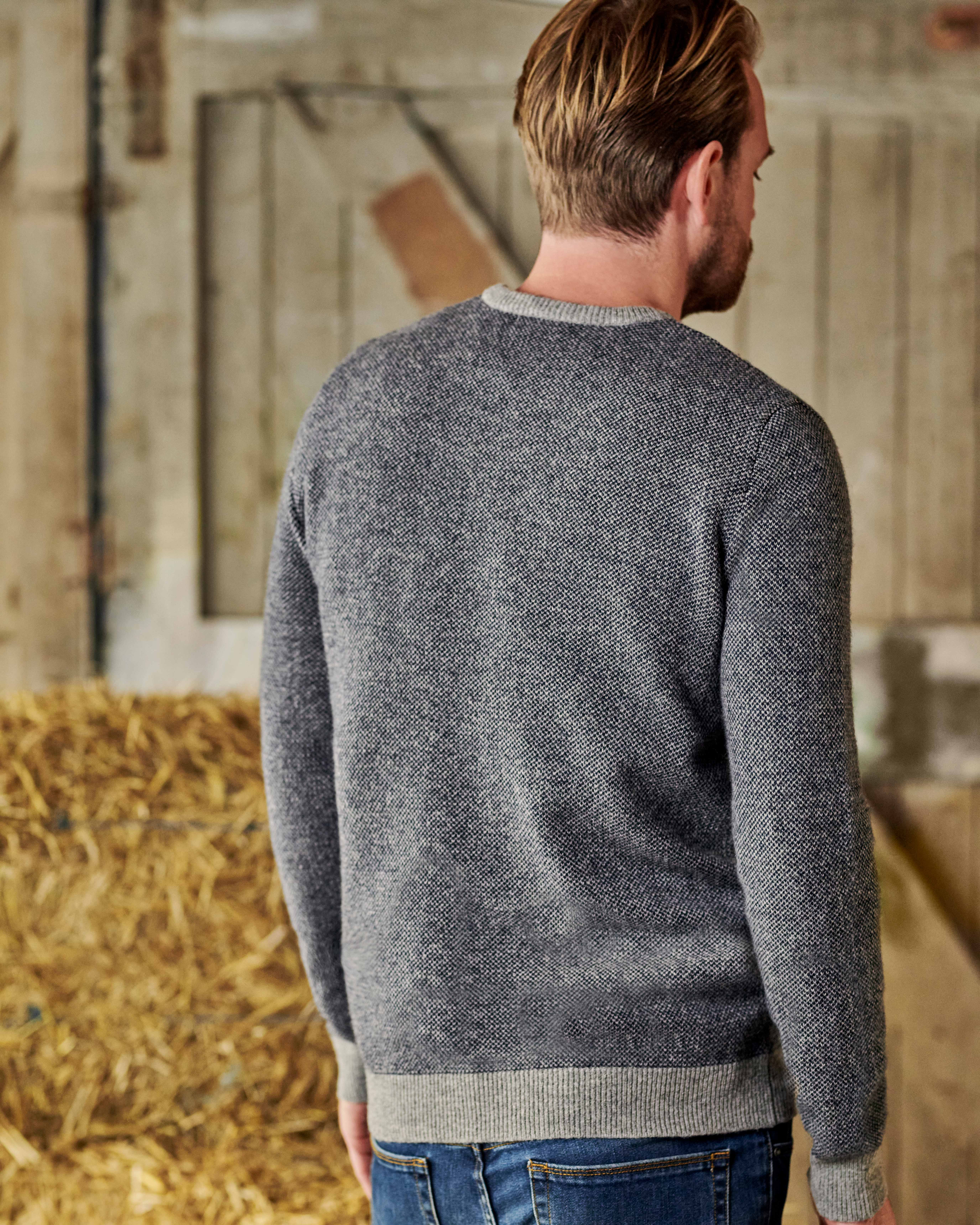 Two Tone Knitted Sweater