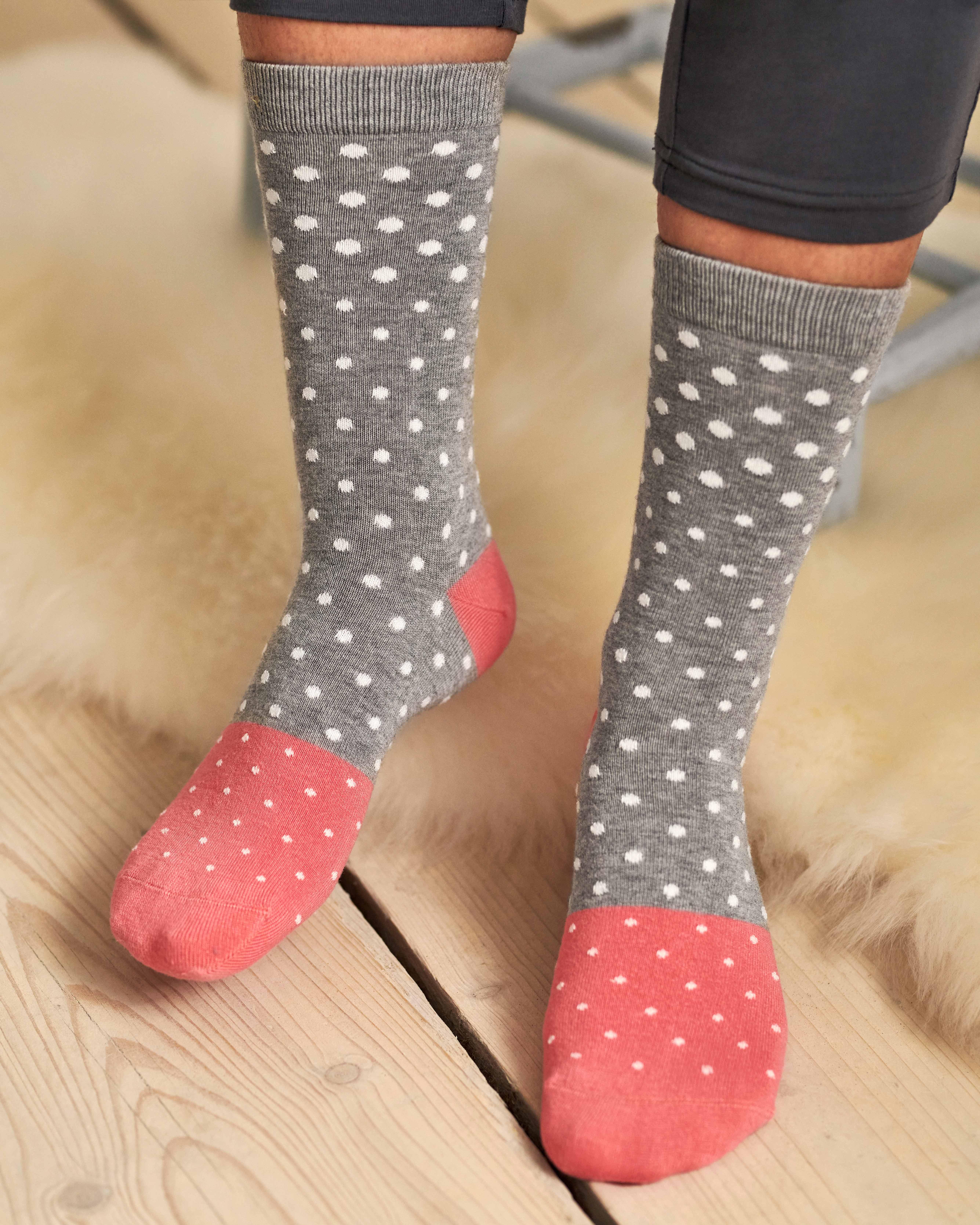 Spot Bamboo Sock