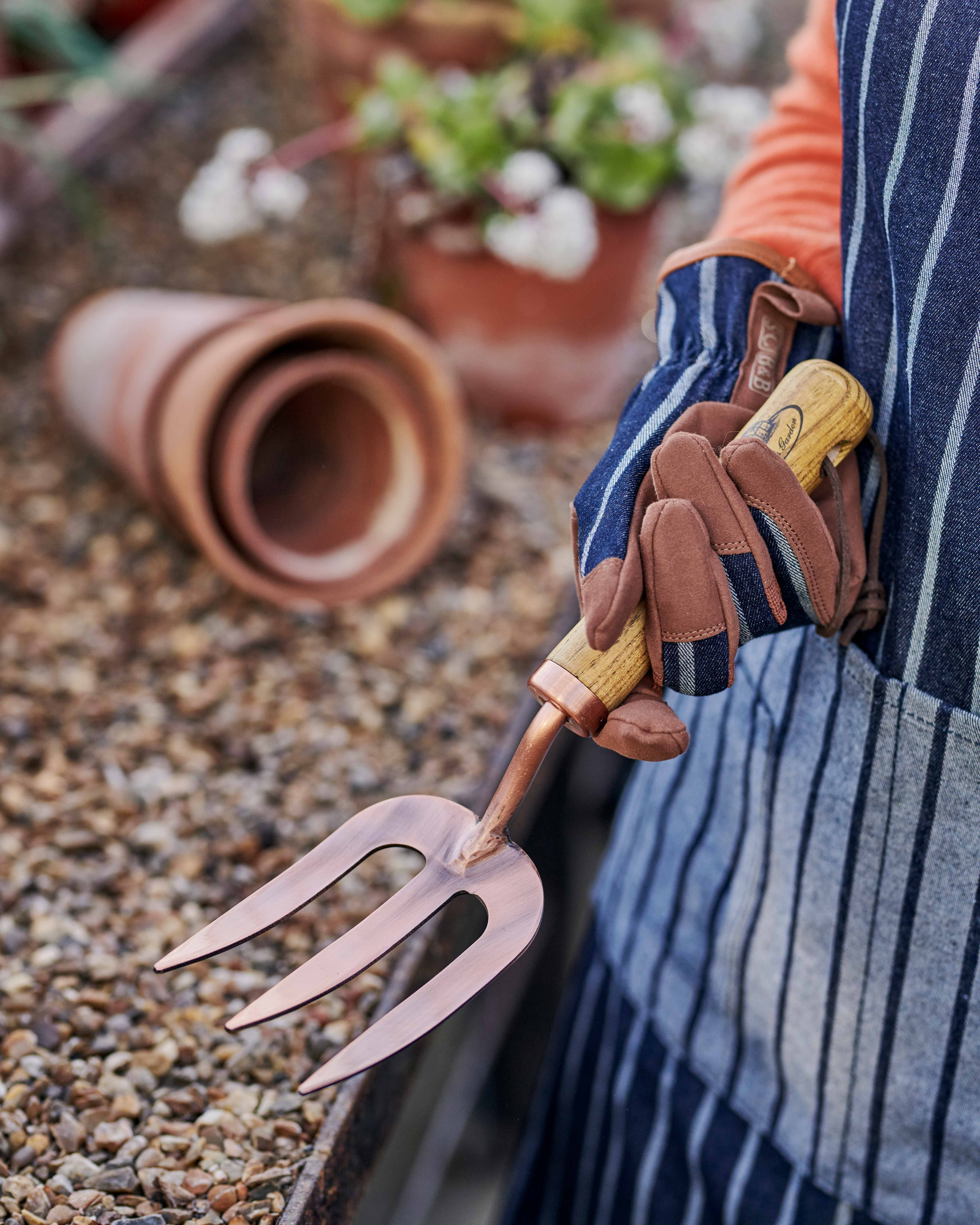 Copper Plated Fork