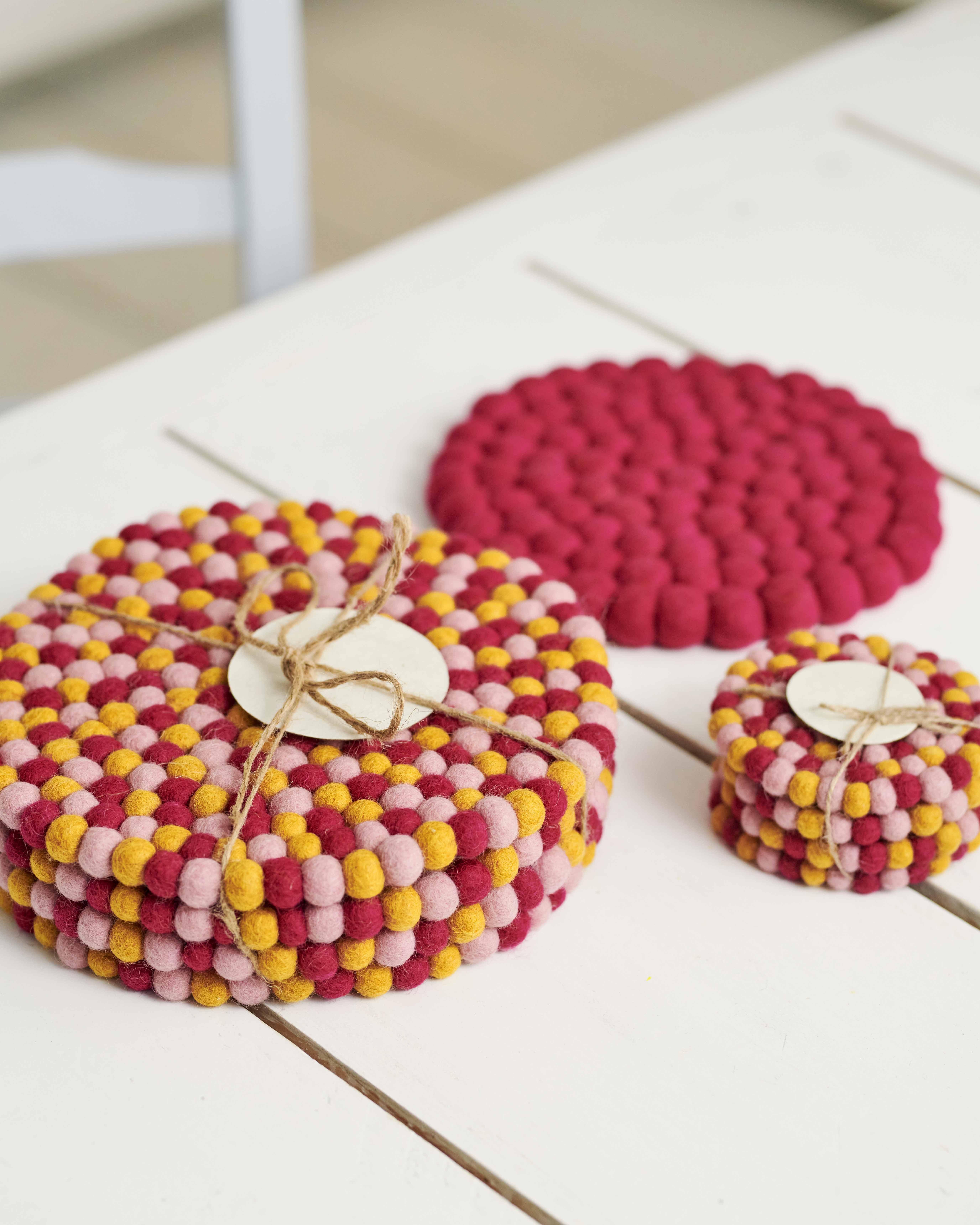 Felt Coasters 4 Pack