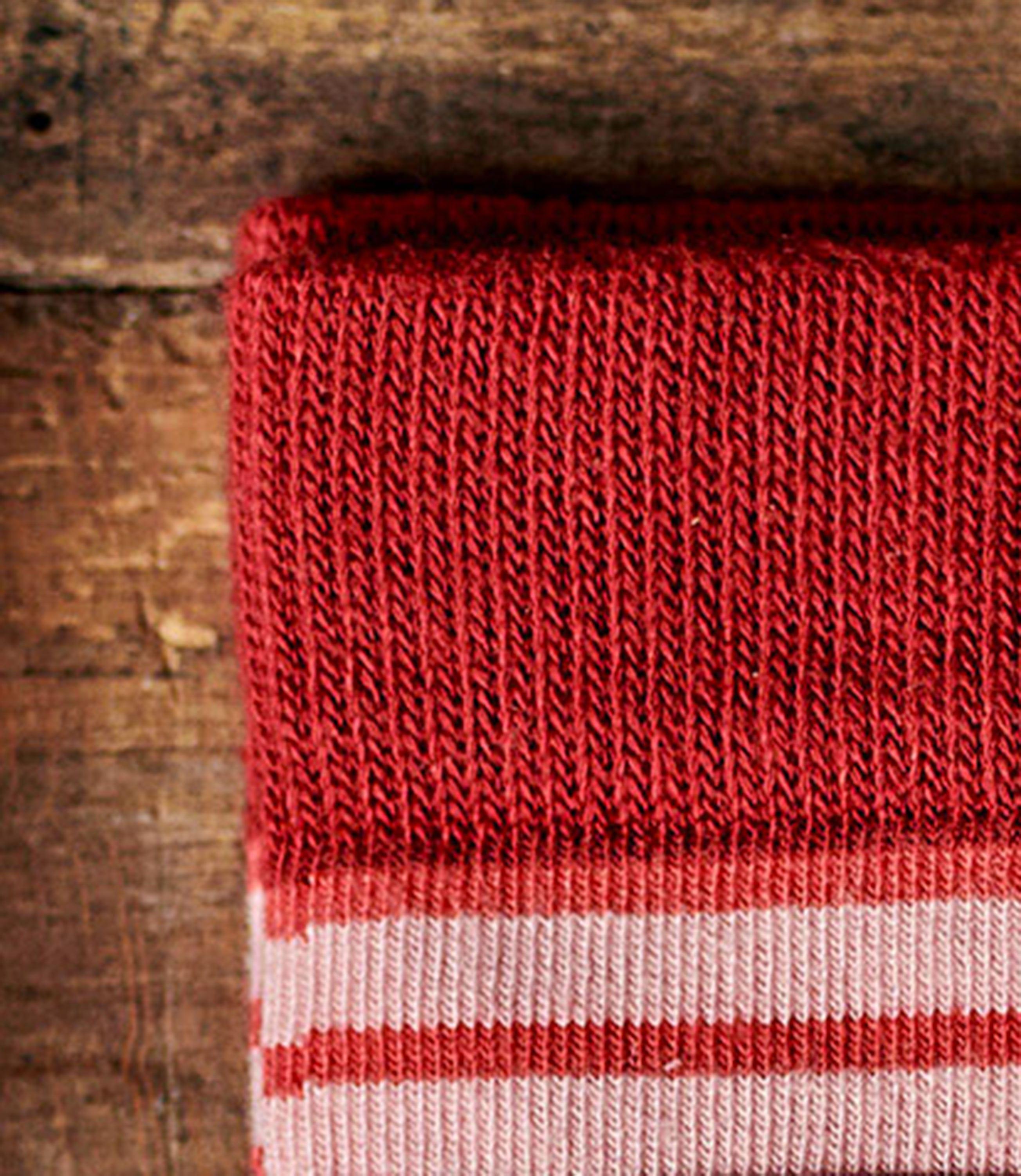 Womens Stripe Bamboo Sock