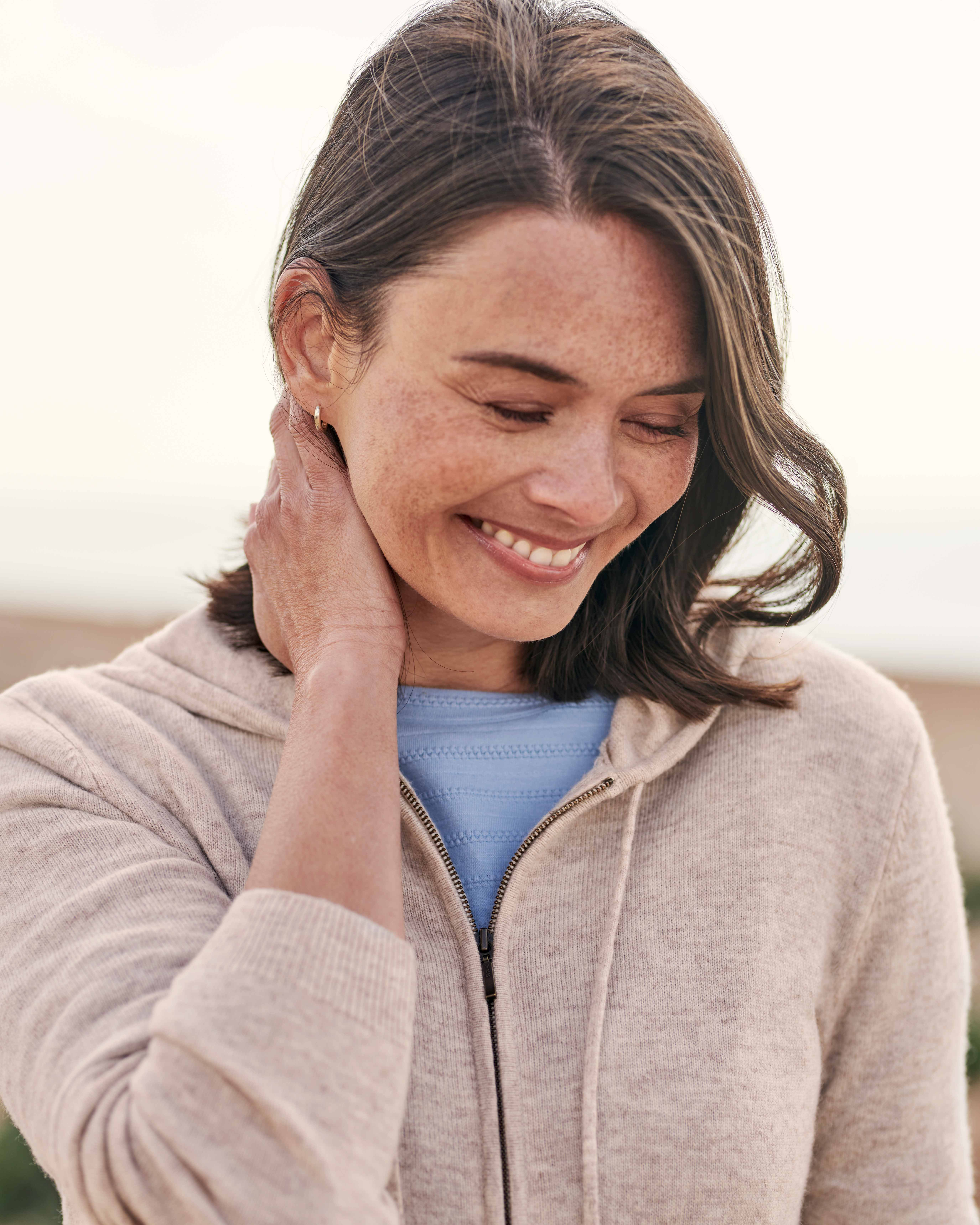 Cashmere And Merino Luxe Hoodie