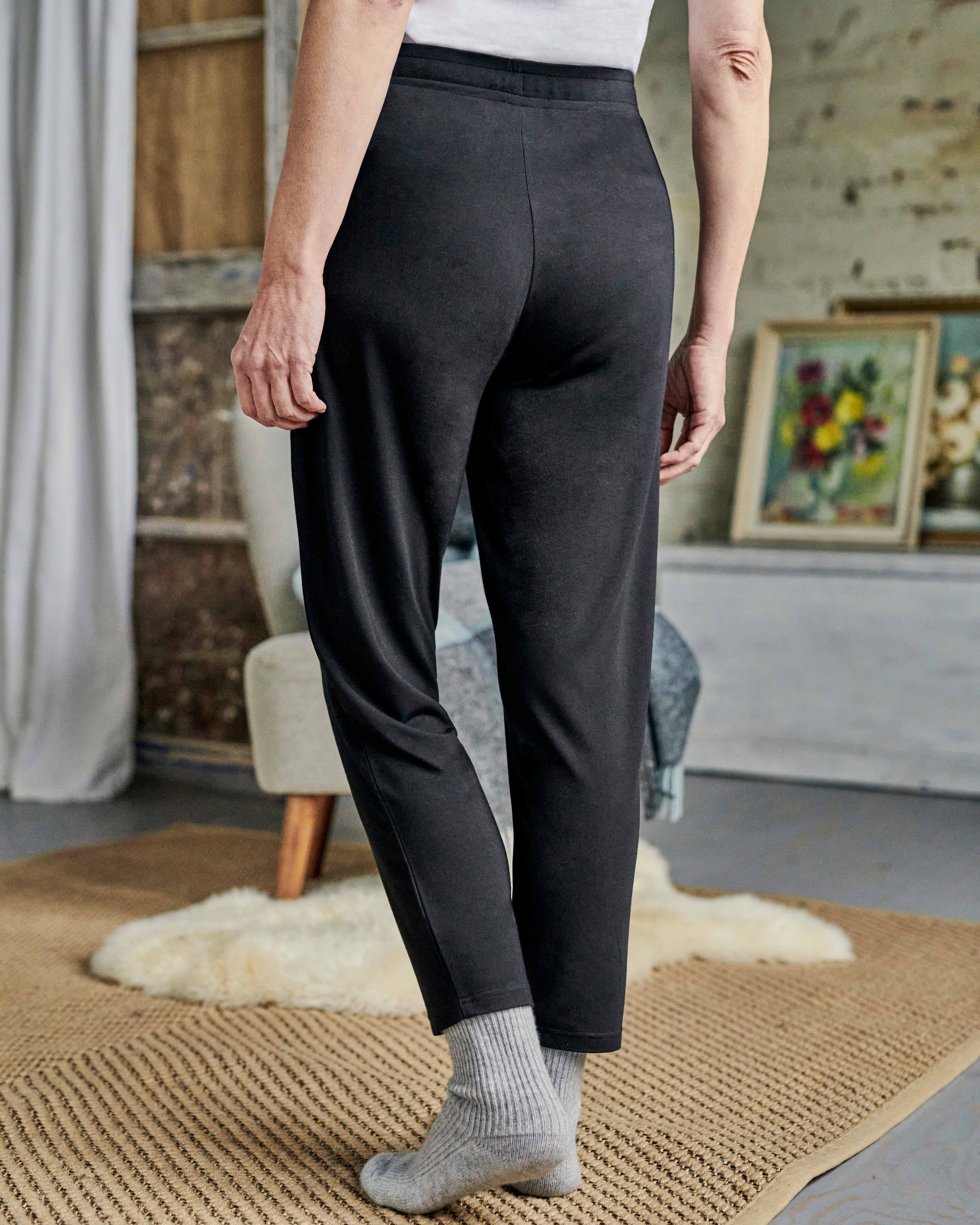 Tapered Soft Jersey Trouser
