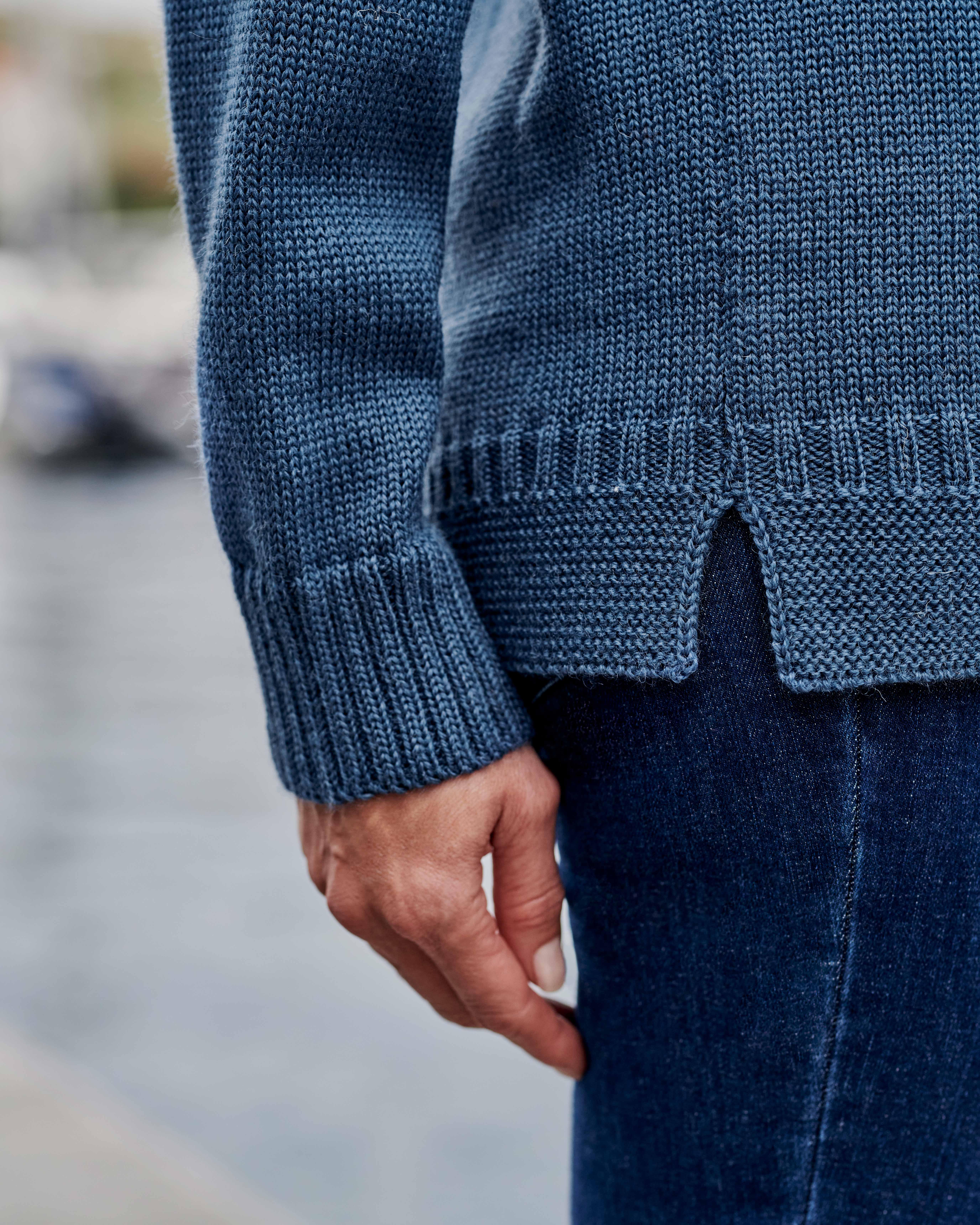 100% Pure Wool Guernsey Jumper