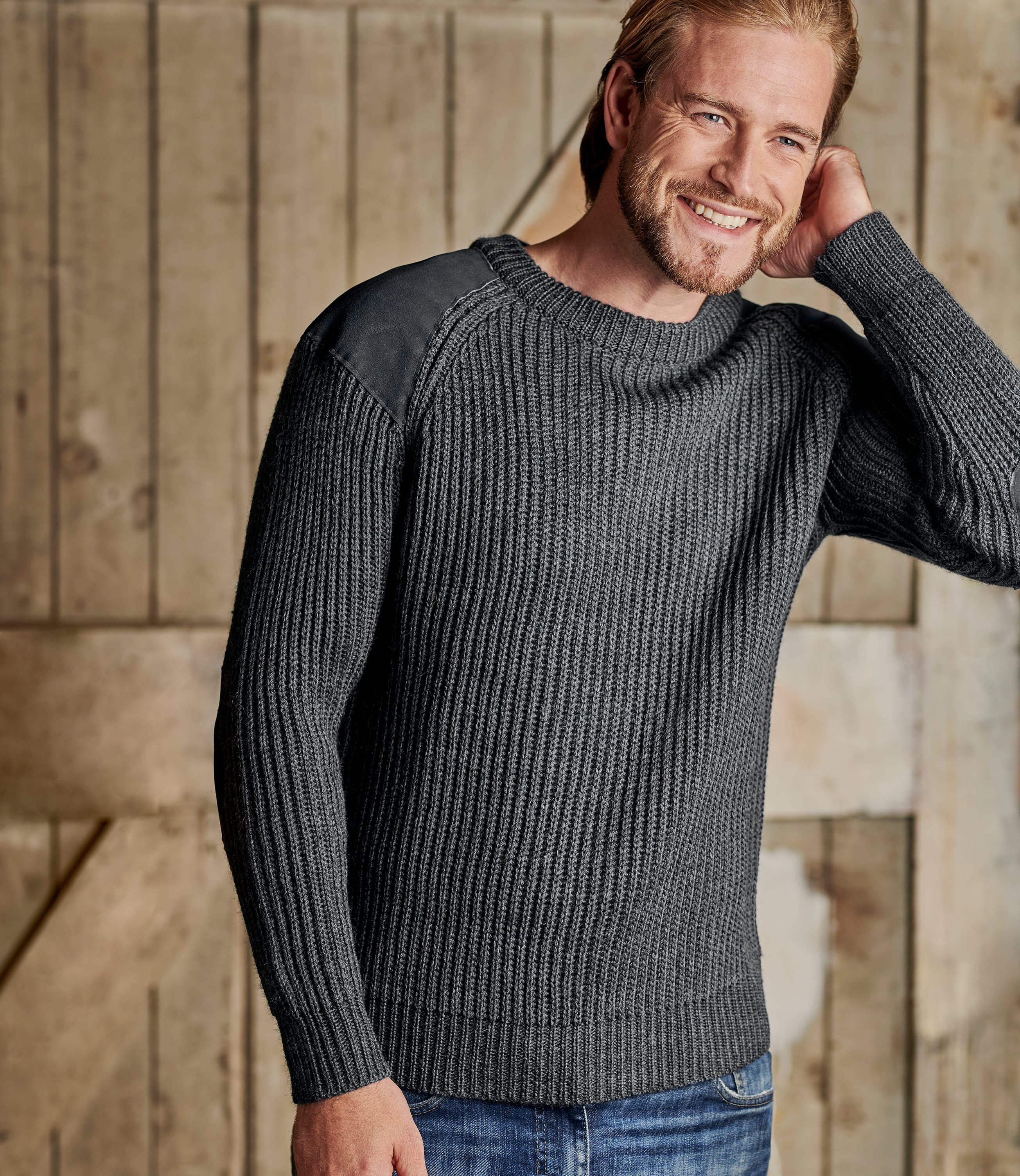100% Pure Wool Countryman Jumper