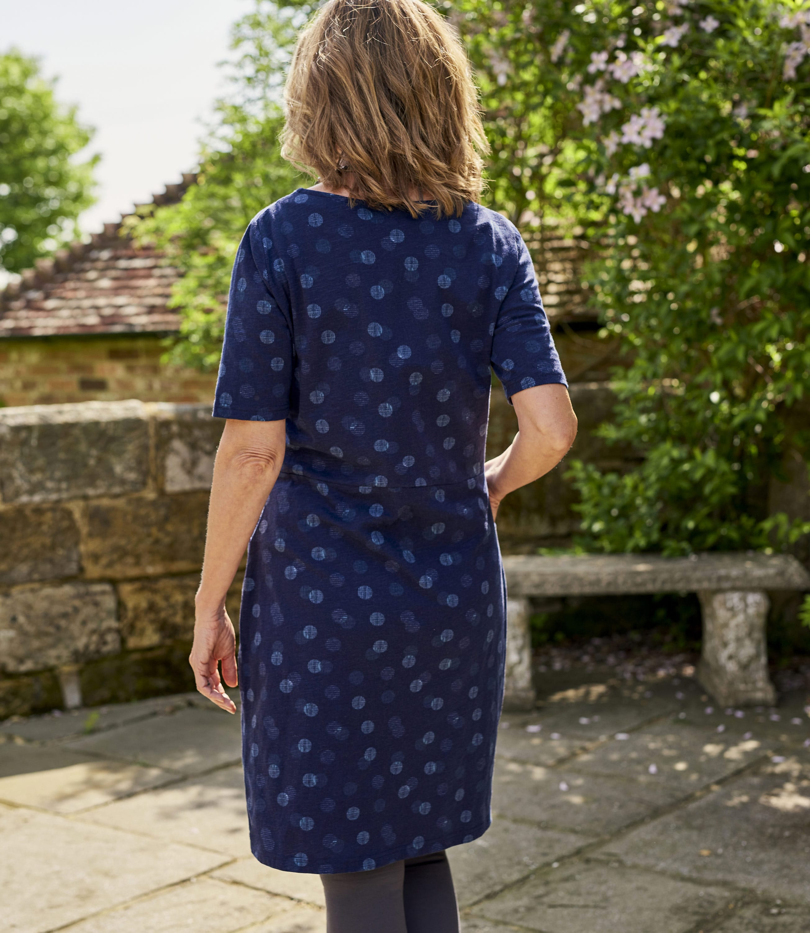 Relaxed Print Dress
