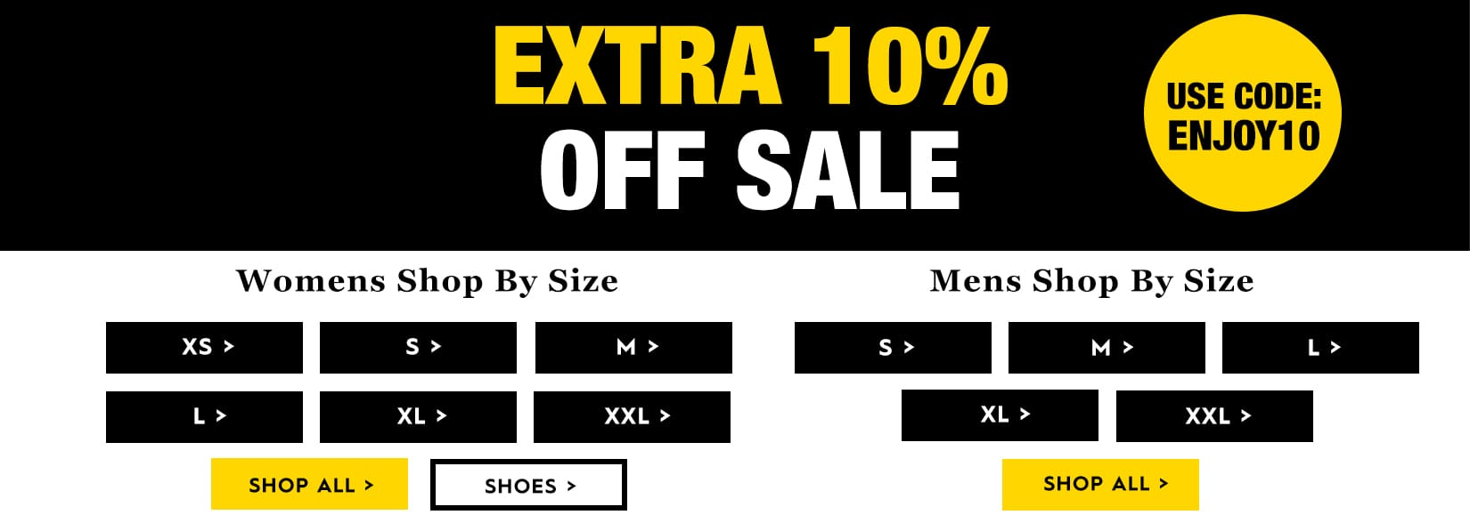Sale extra 10% off
